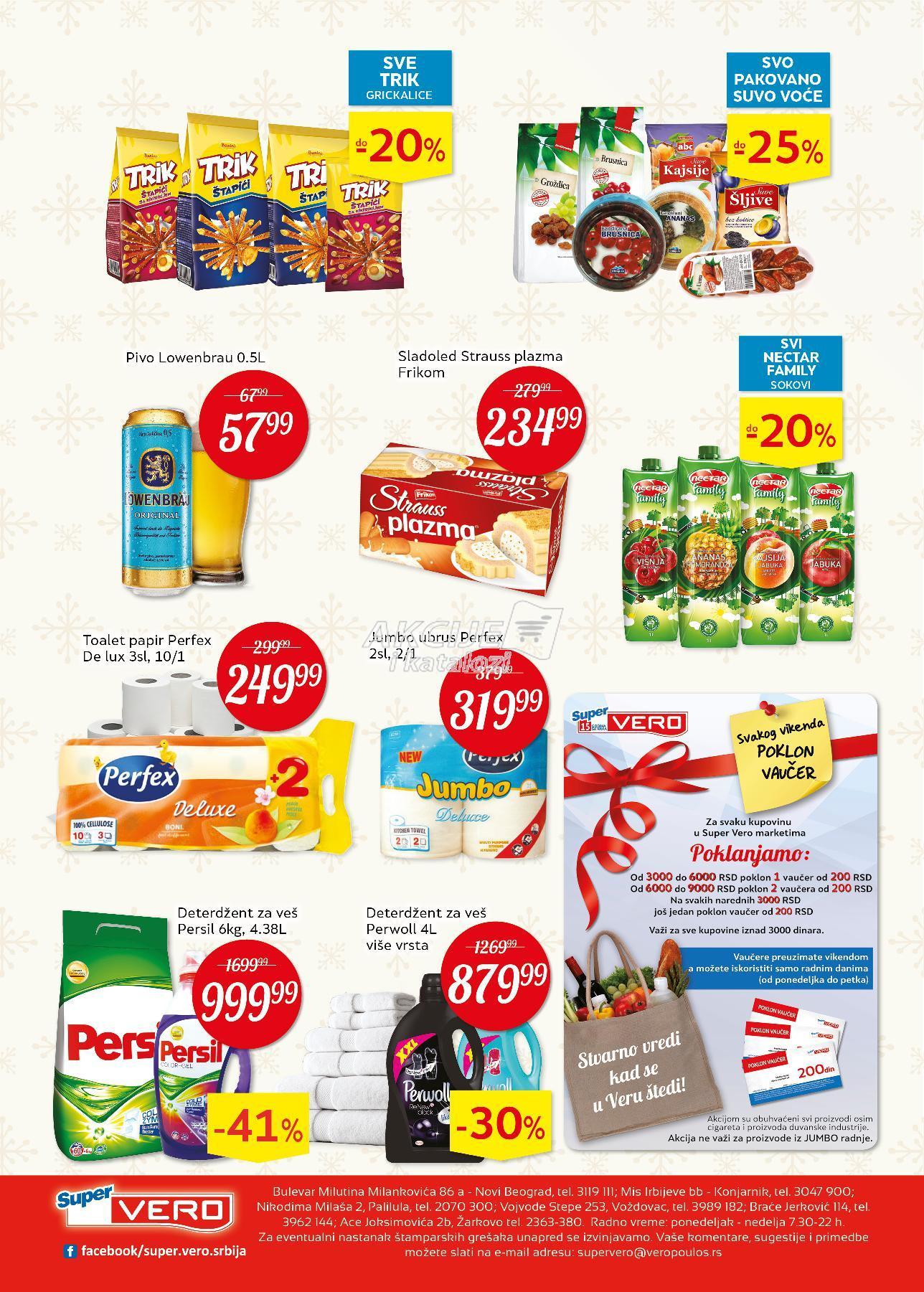 Super Vero akcija božićne kupovine