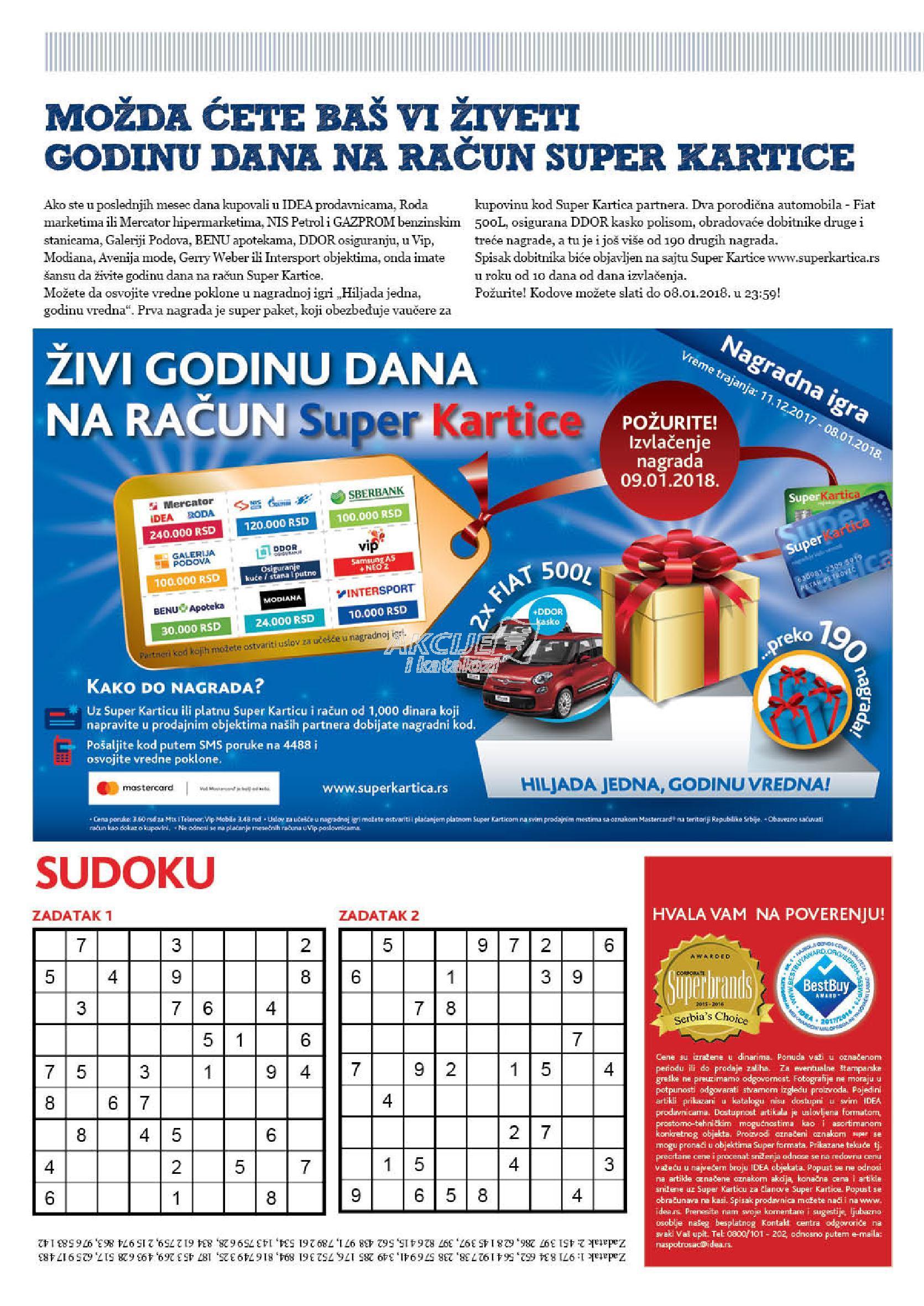 Idea akcija K Plus novine