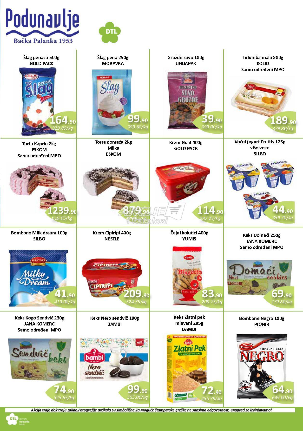 AD Podunavlje akcija odlične kupovine