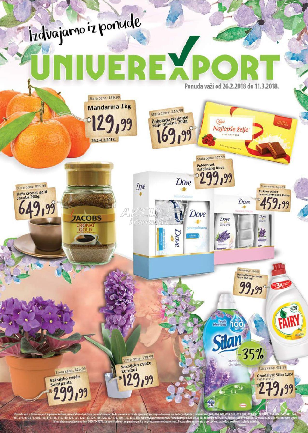 Univerexport akcija odlične kupovine