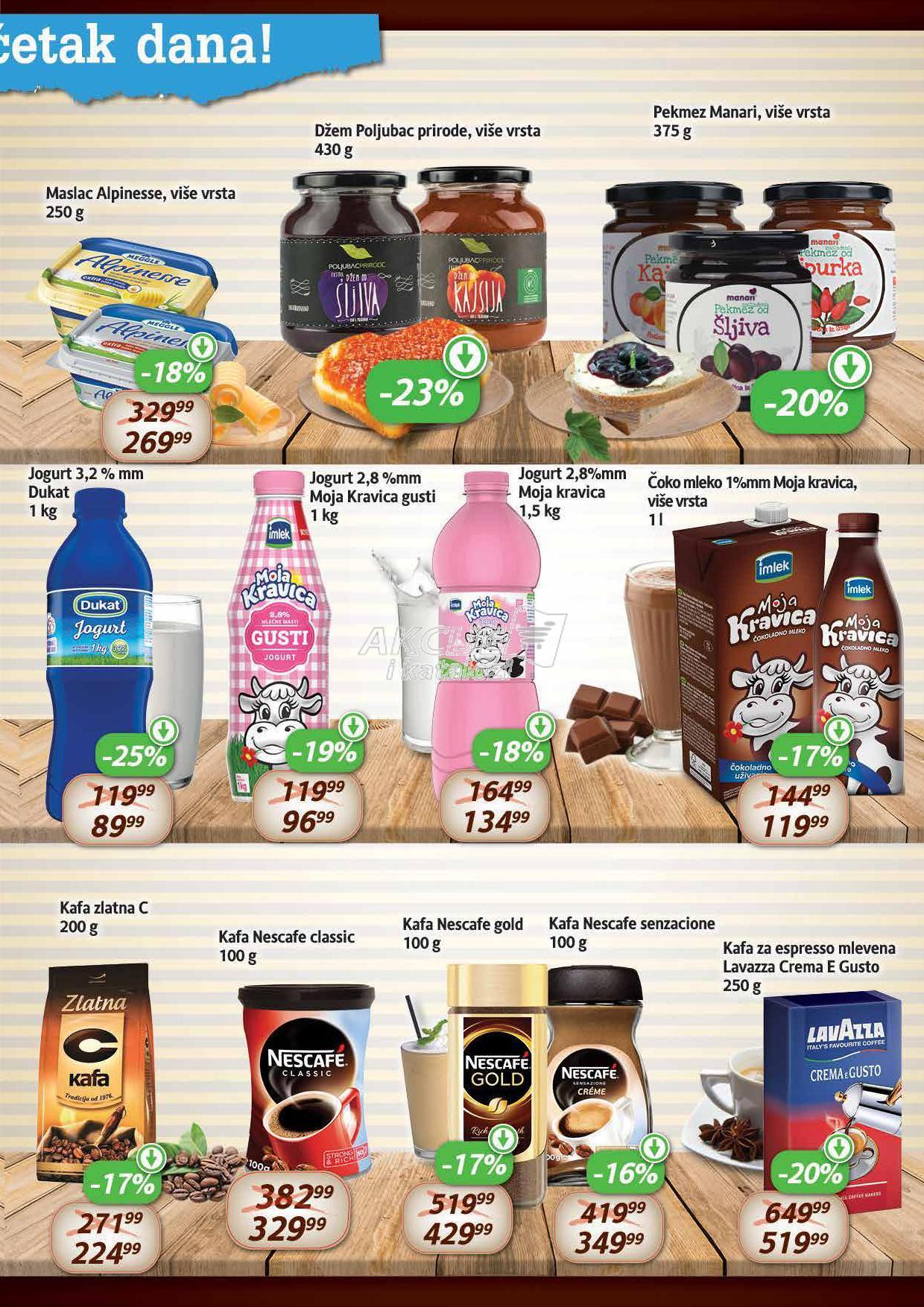Aroma akcija odlične kupovine