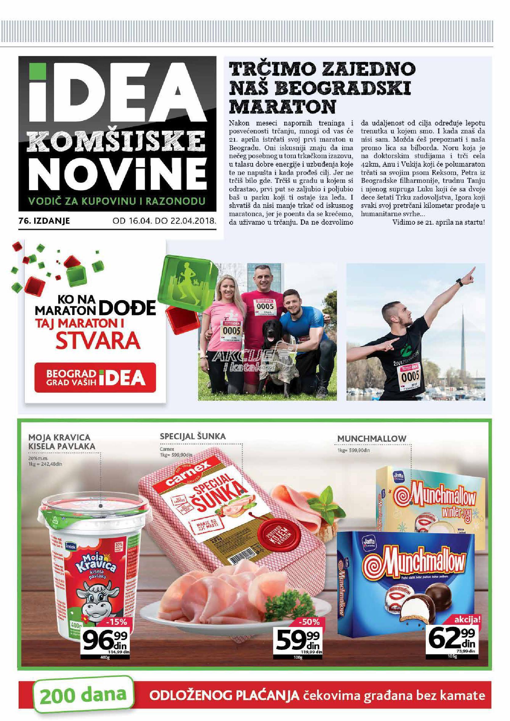 Idea akcija beogradske novine