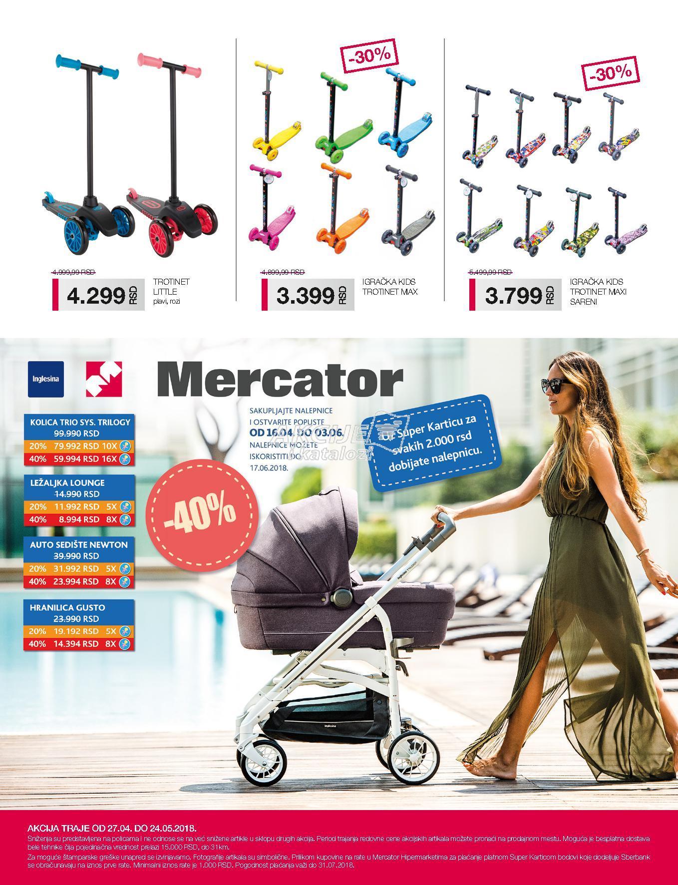 Mercator akcija super kupovine