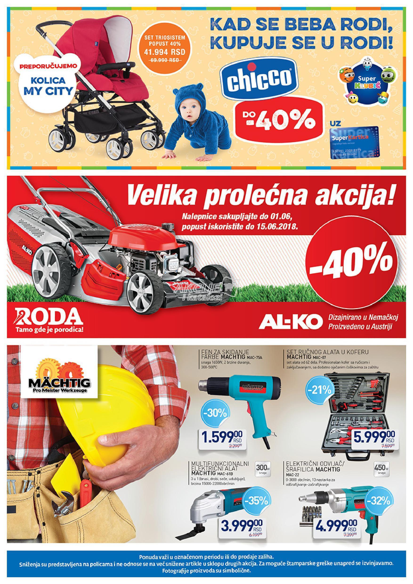 Roda akcija super cena u Vršcu