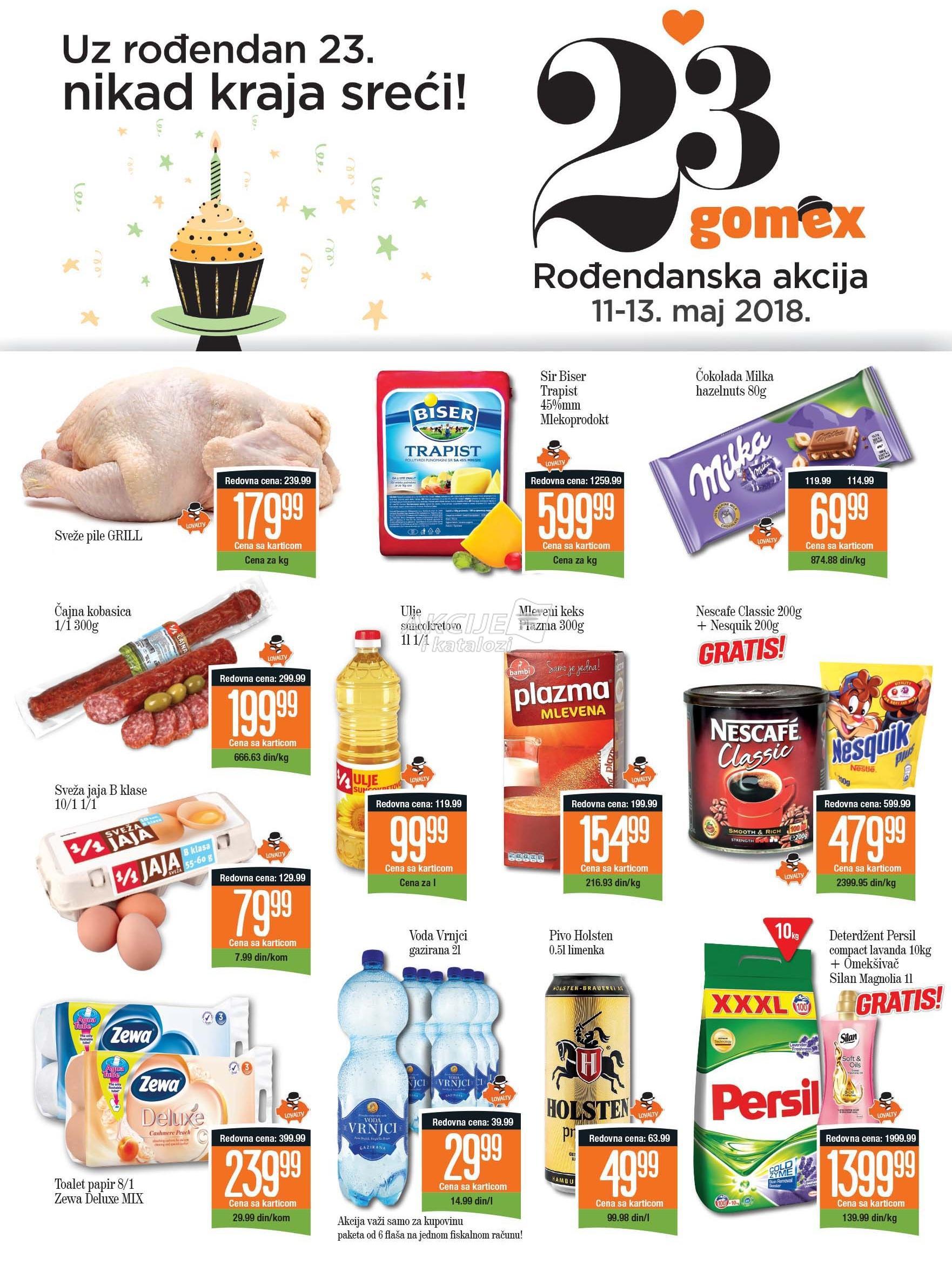 Gomex akcija porodične kupovine