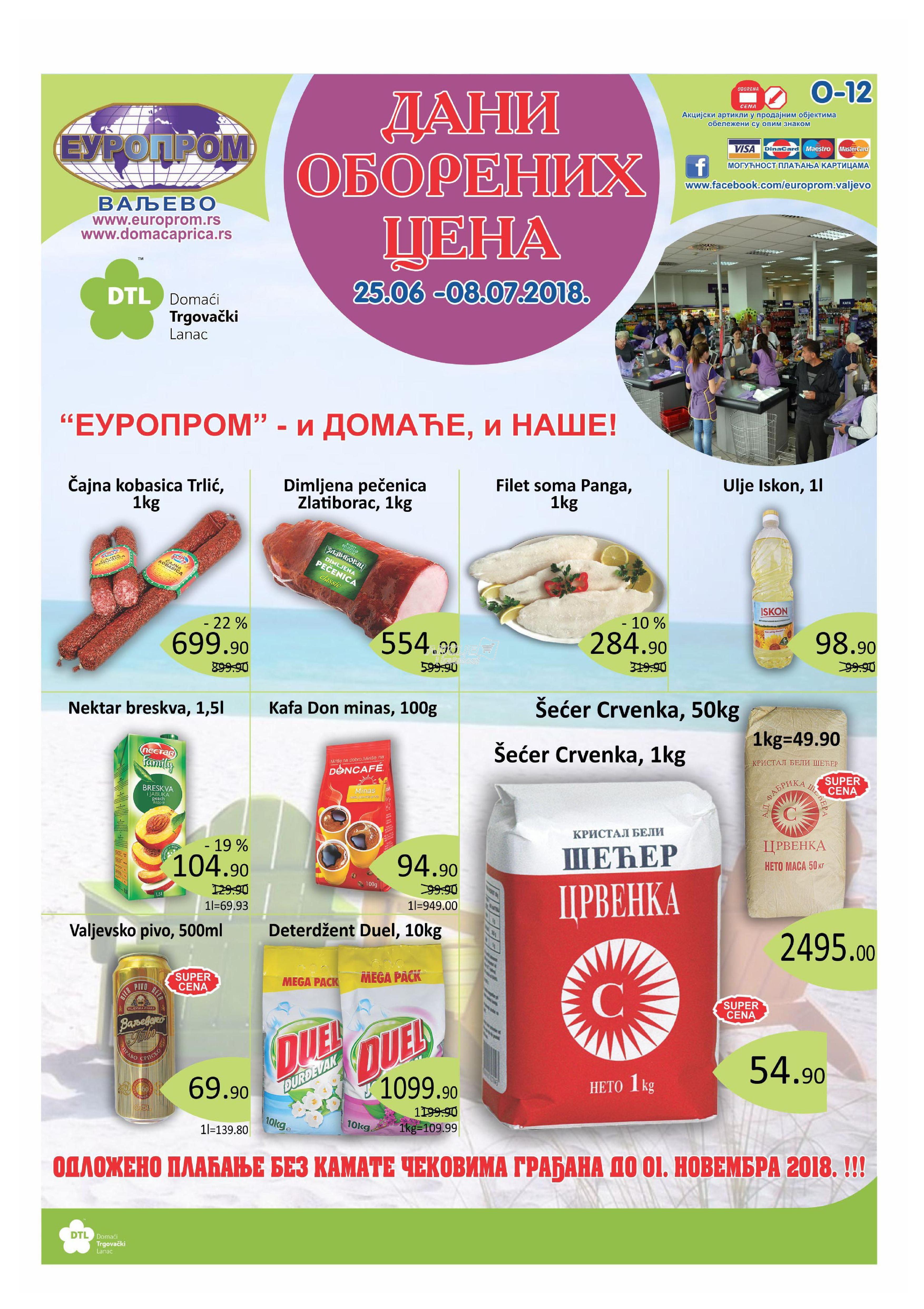 Europrom akcija super cena