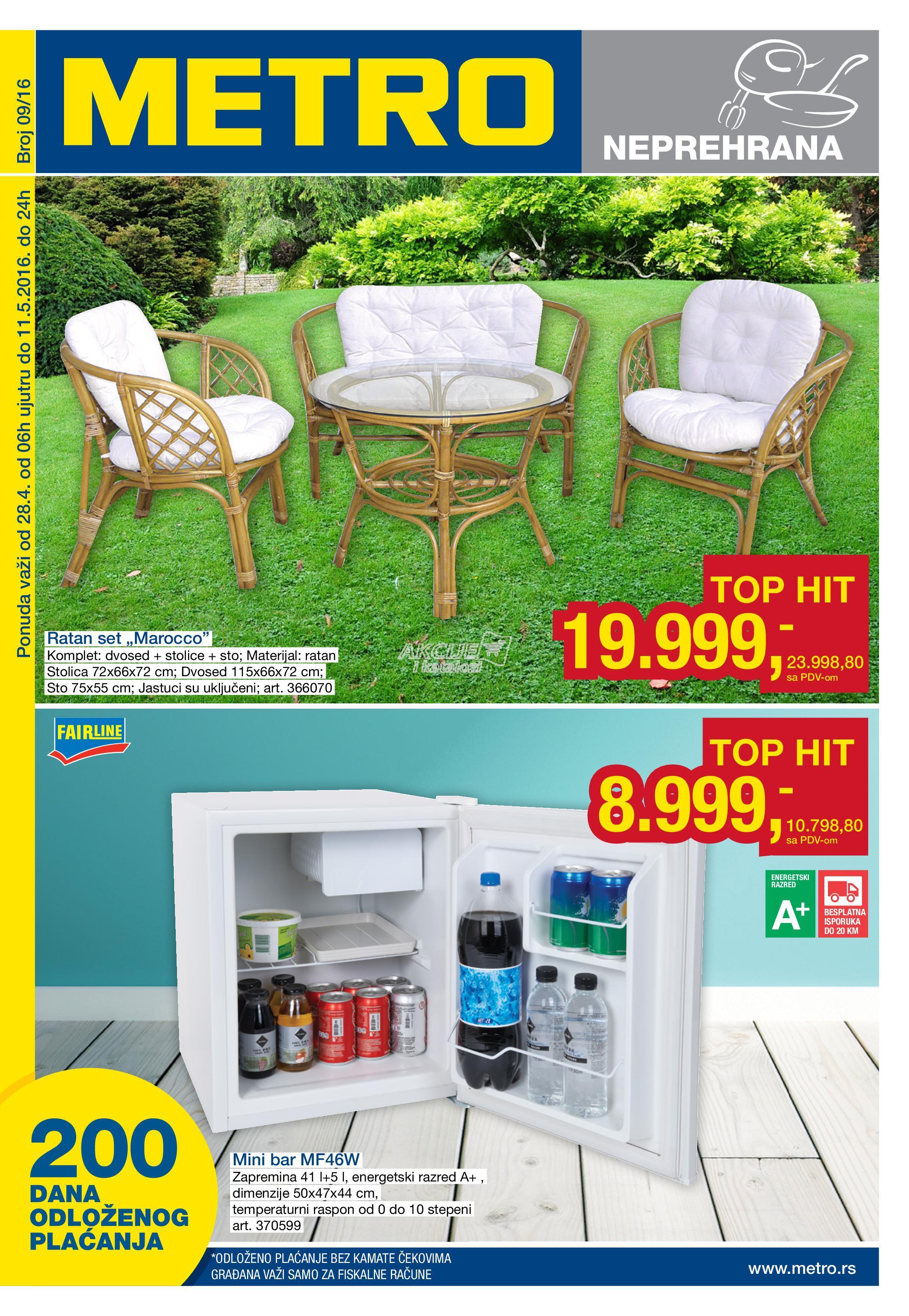 metro katalog akcija. Black Bedroom Furniture Sets. Home Design Ideas