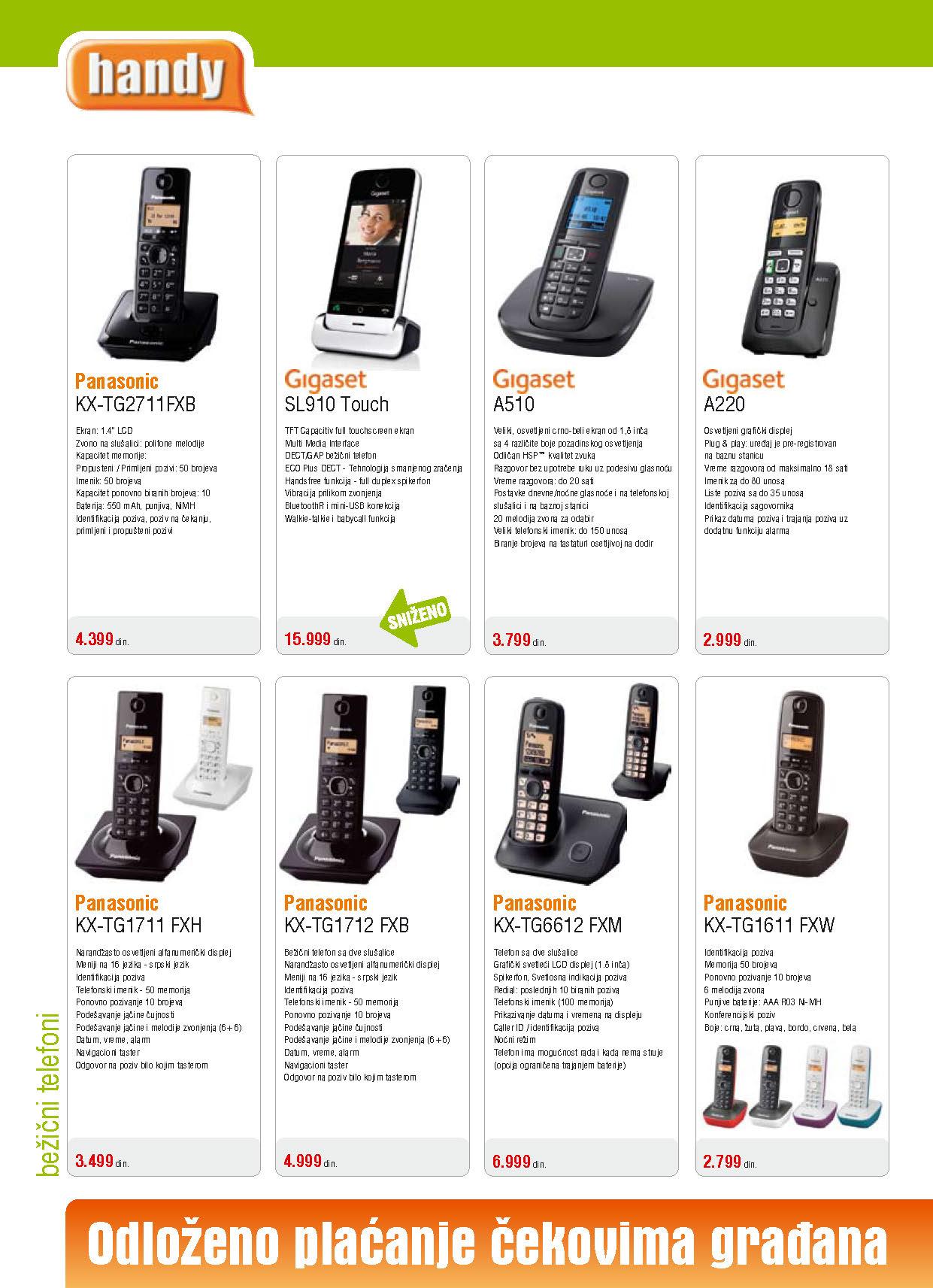 Handy Katalog Telefoni