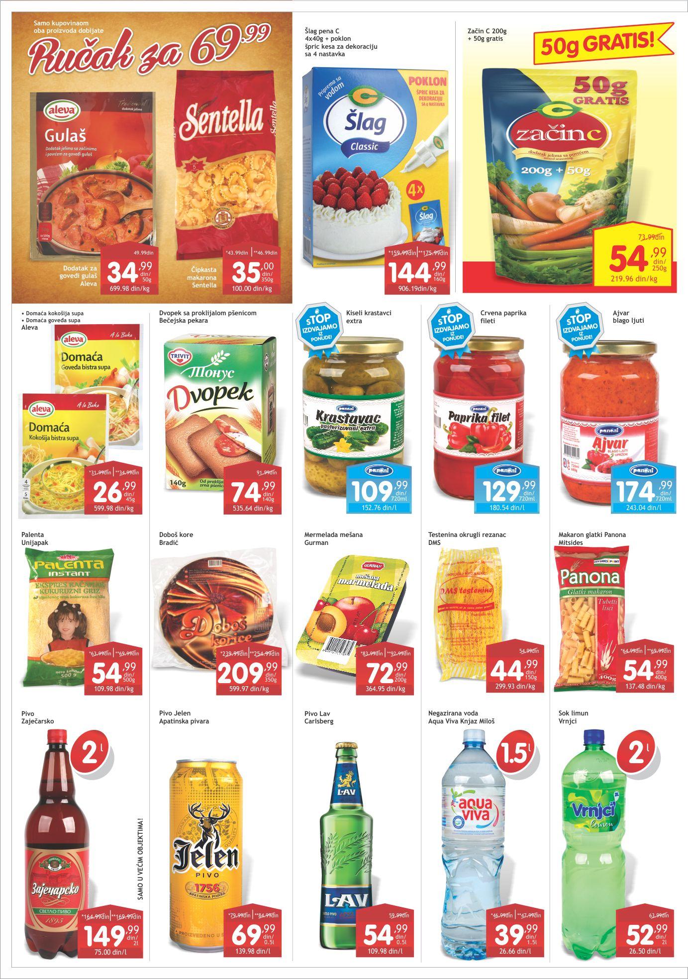 Gomex Katalog Prehrana