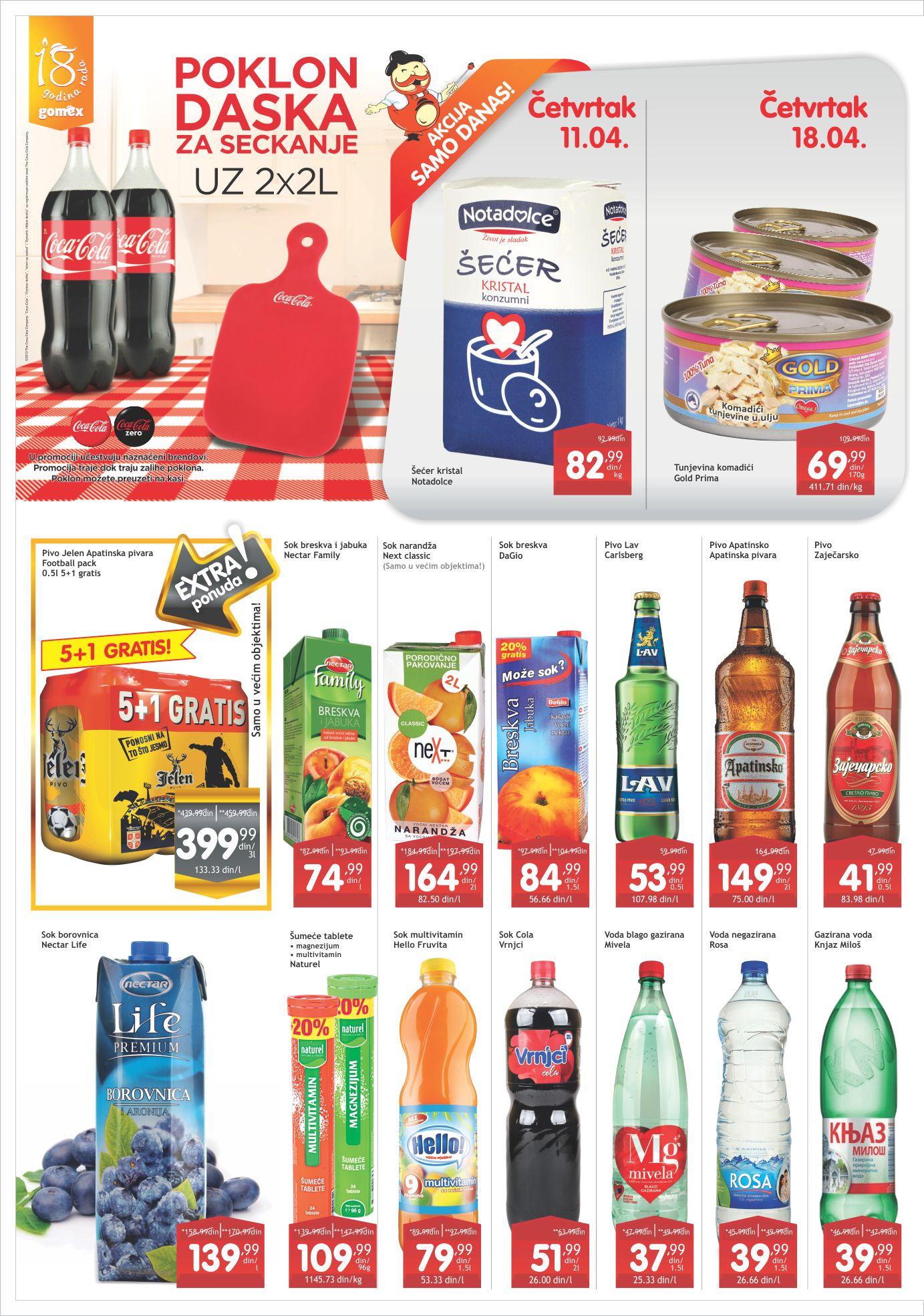 Gomex Katalog Akcijska ponuda