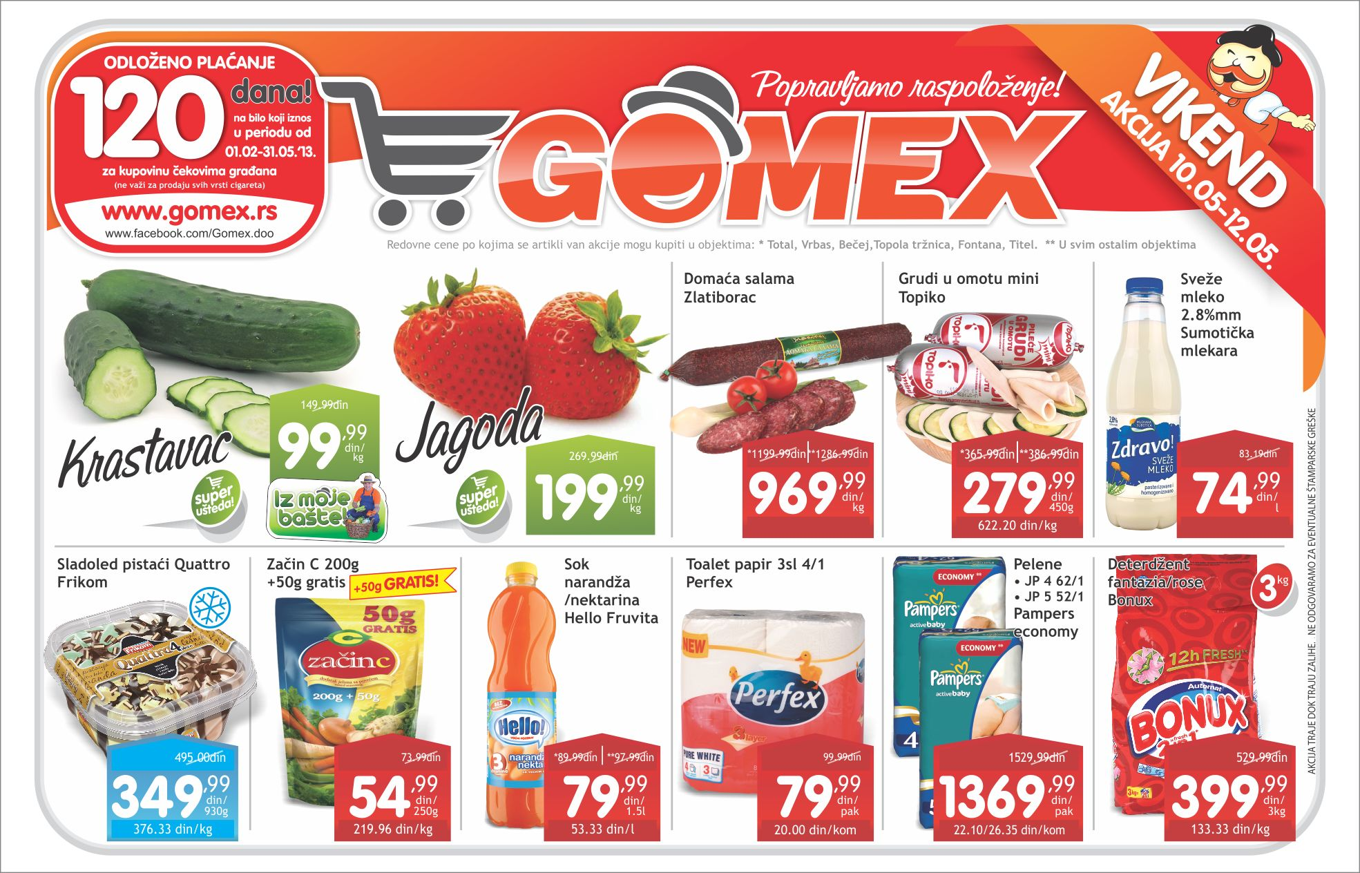 Gomex Katalog Vikend ponuda