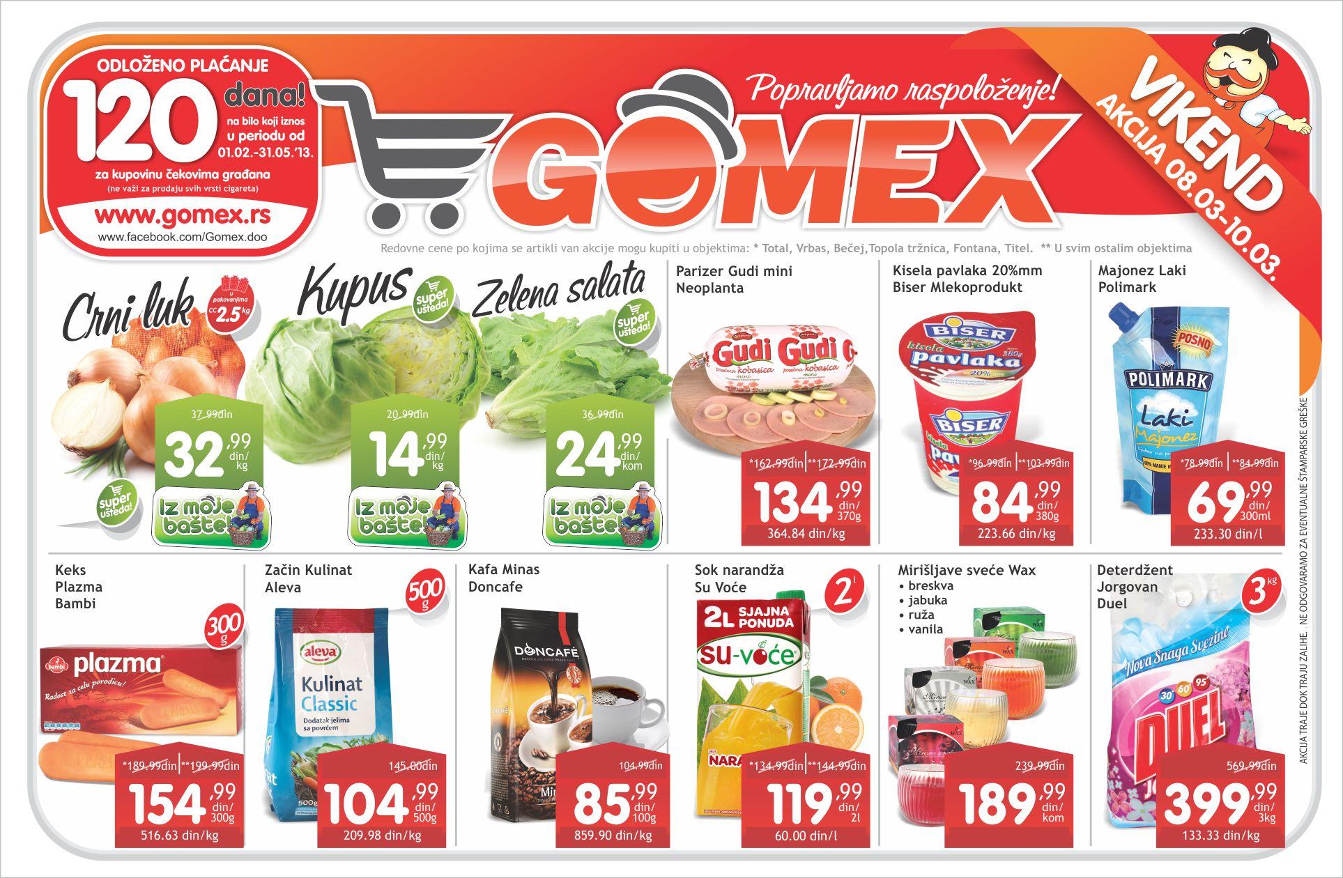 Gomex Katalog Vikend Akcija
