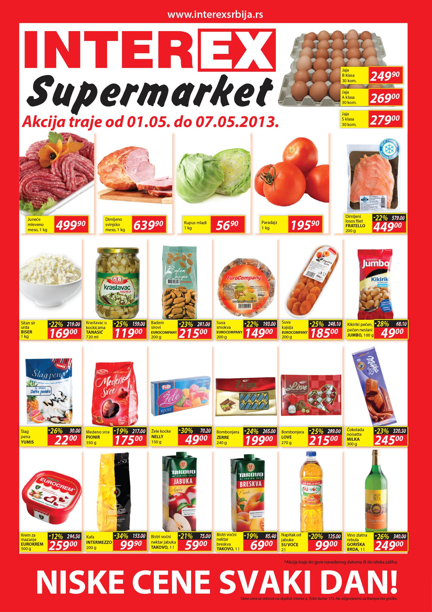 Interex Katalog Niske cene