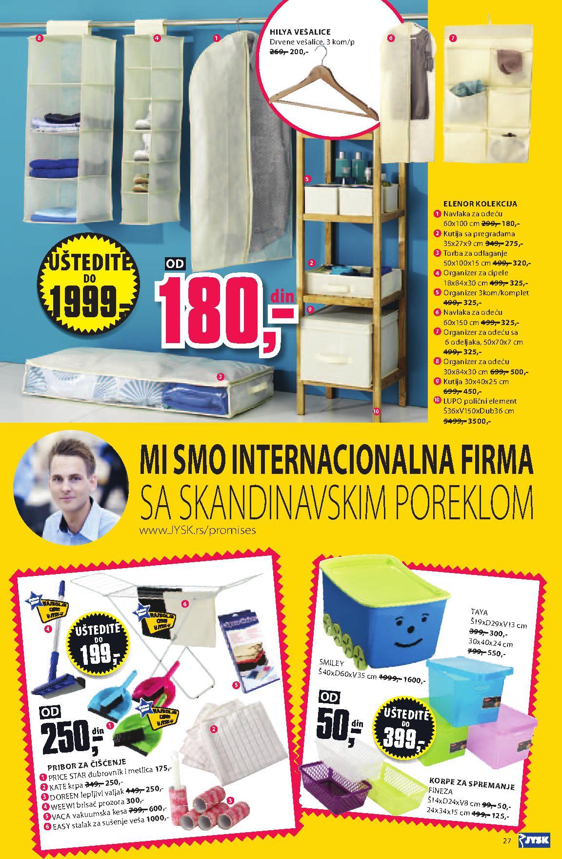 Jysk akcijski katalog