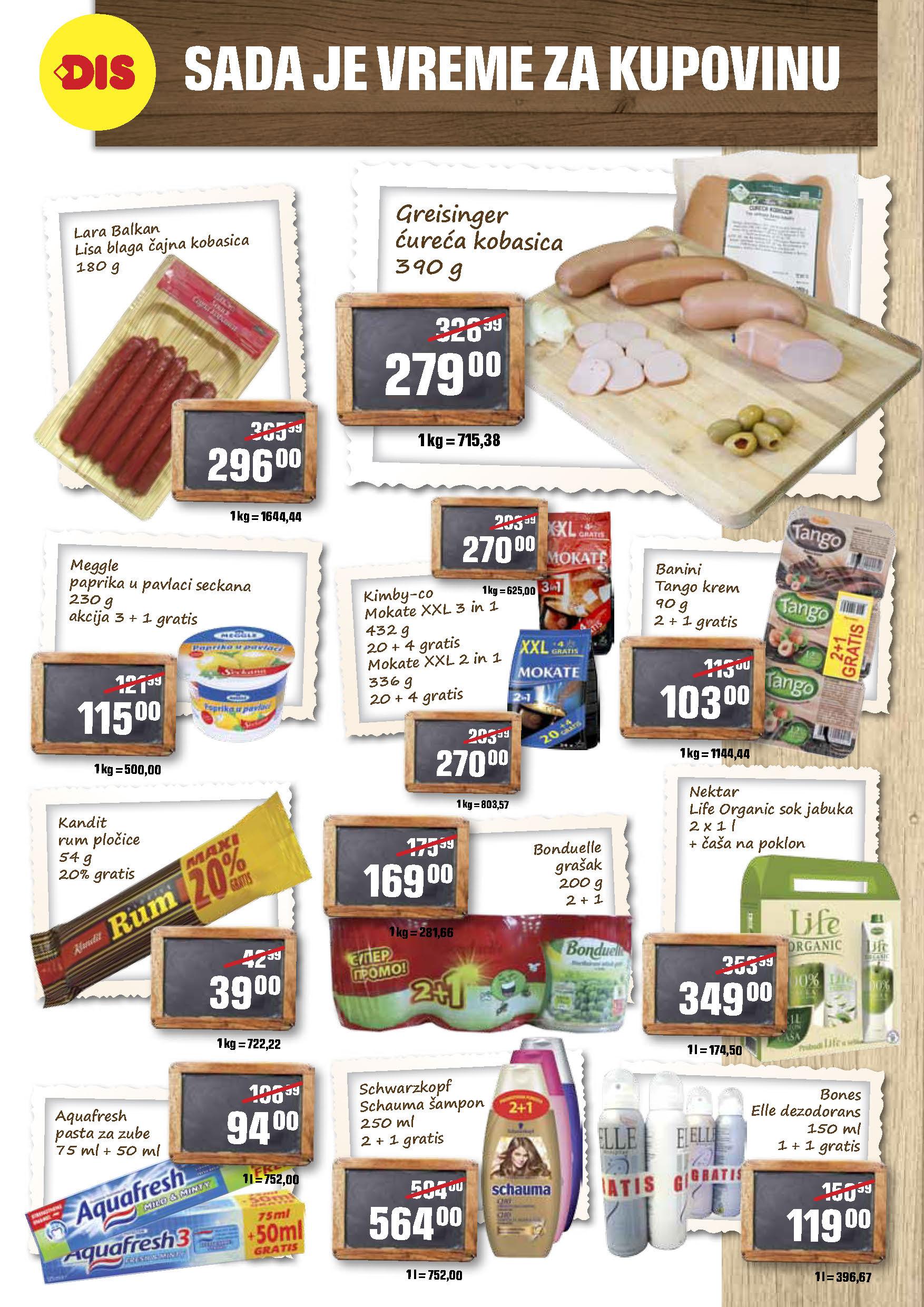 DIS Katalog Akcija Marketi
