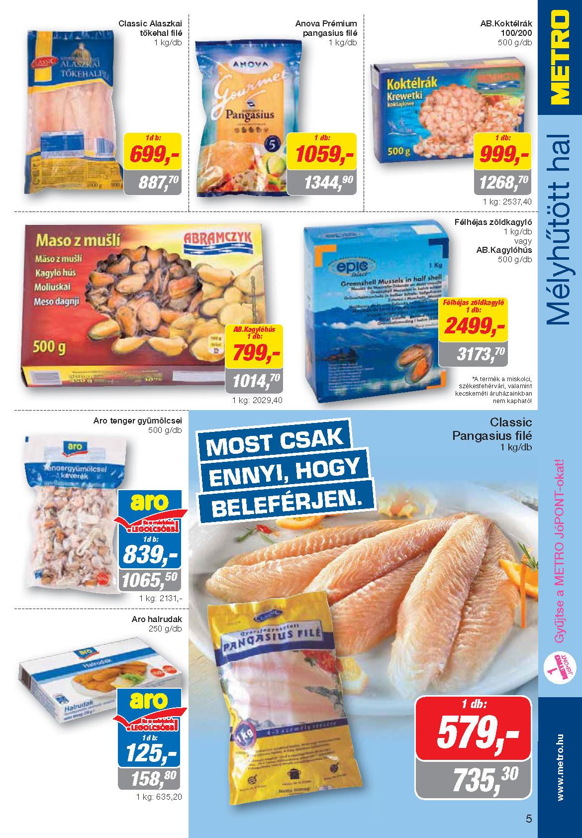 Metro Mađarska Katalog Prehrana