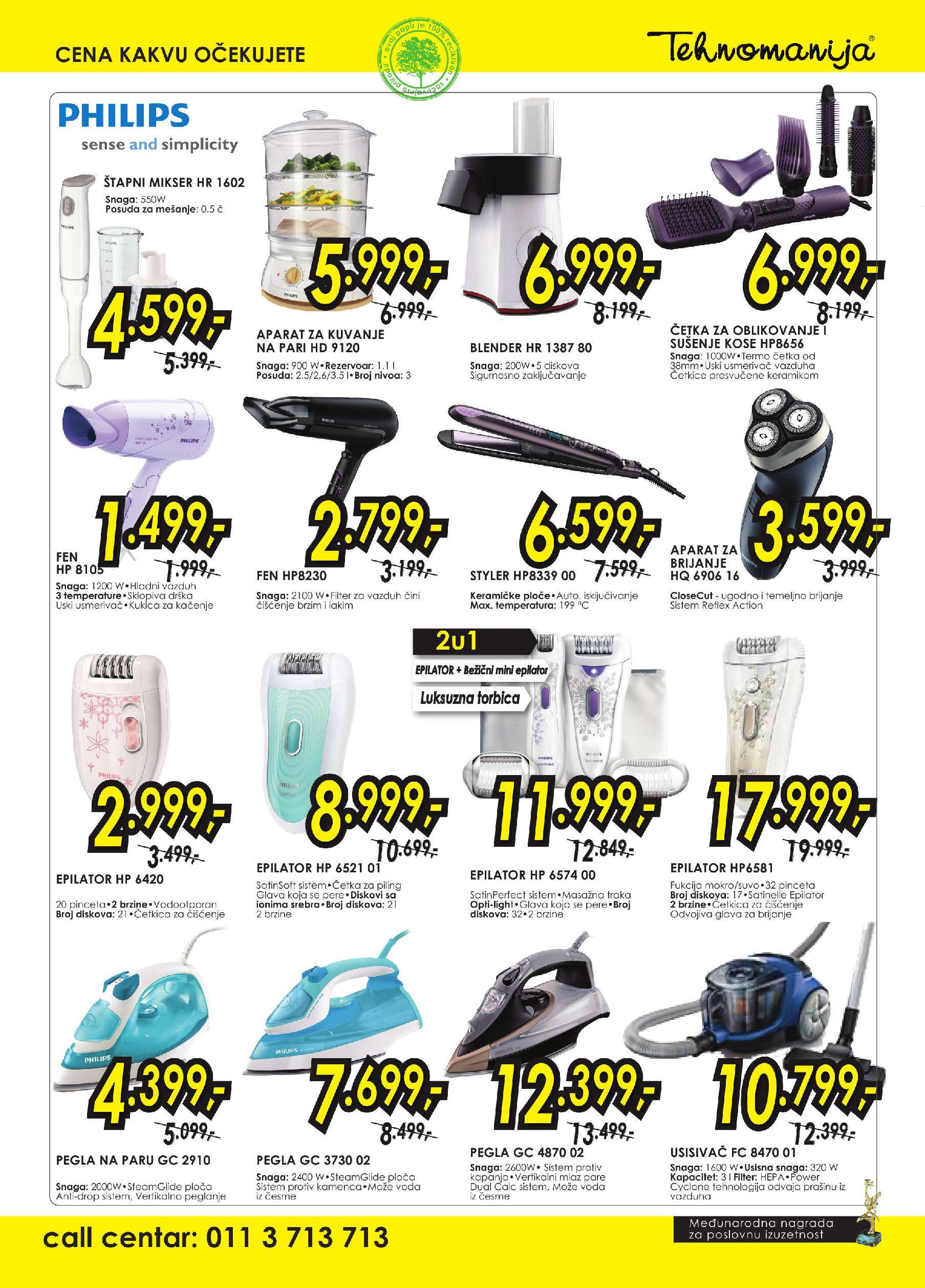 Tehnomanija Katalog kućni aparati