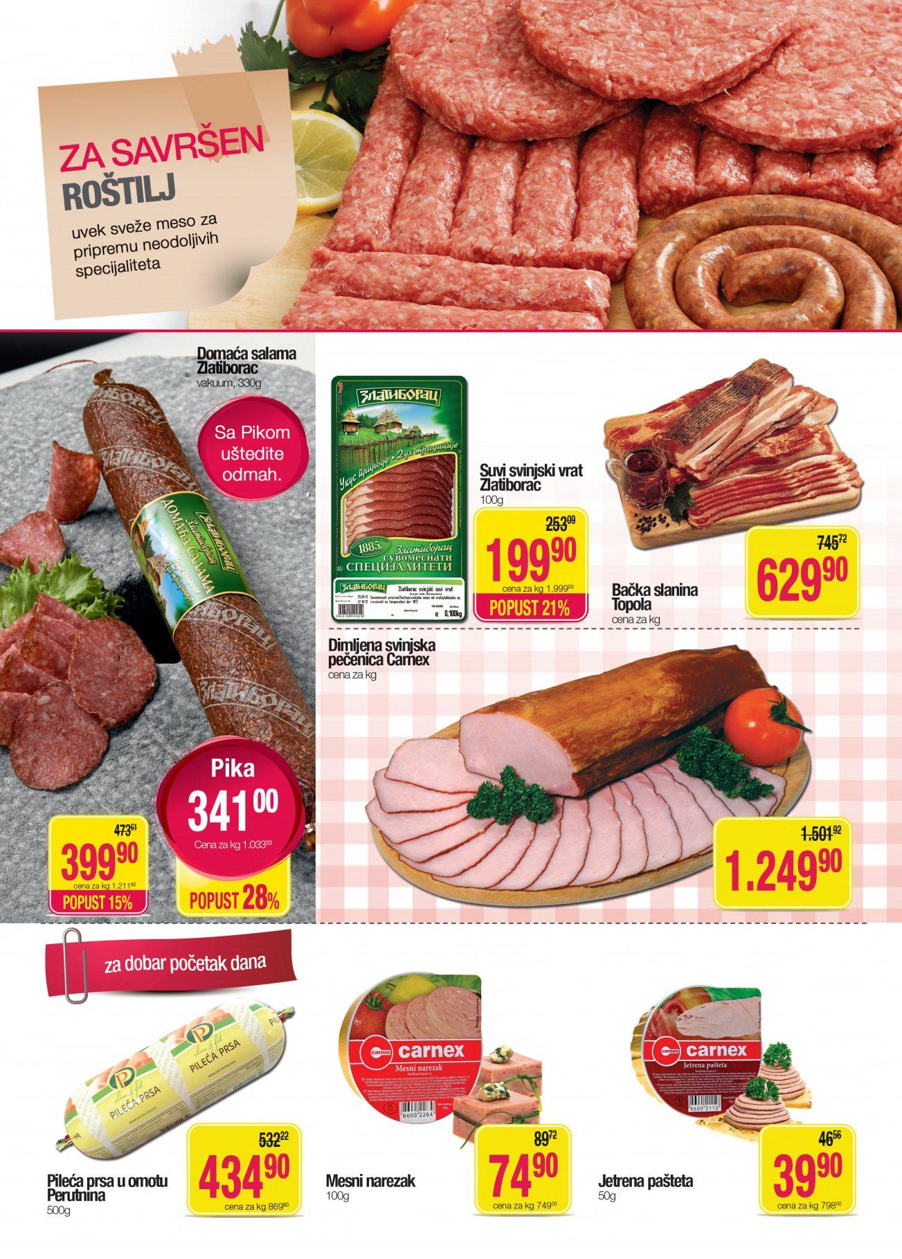 Mercator Katalog Prehrana