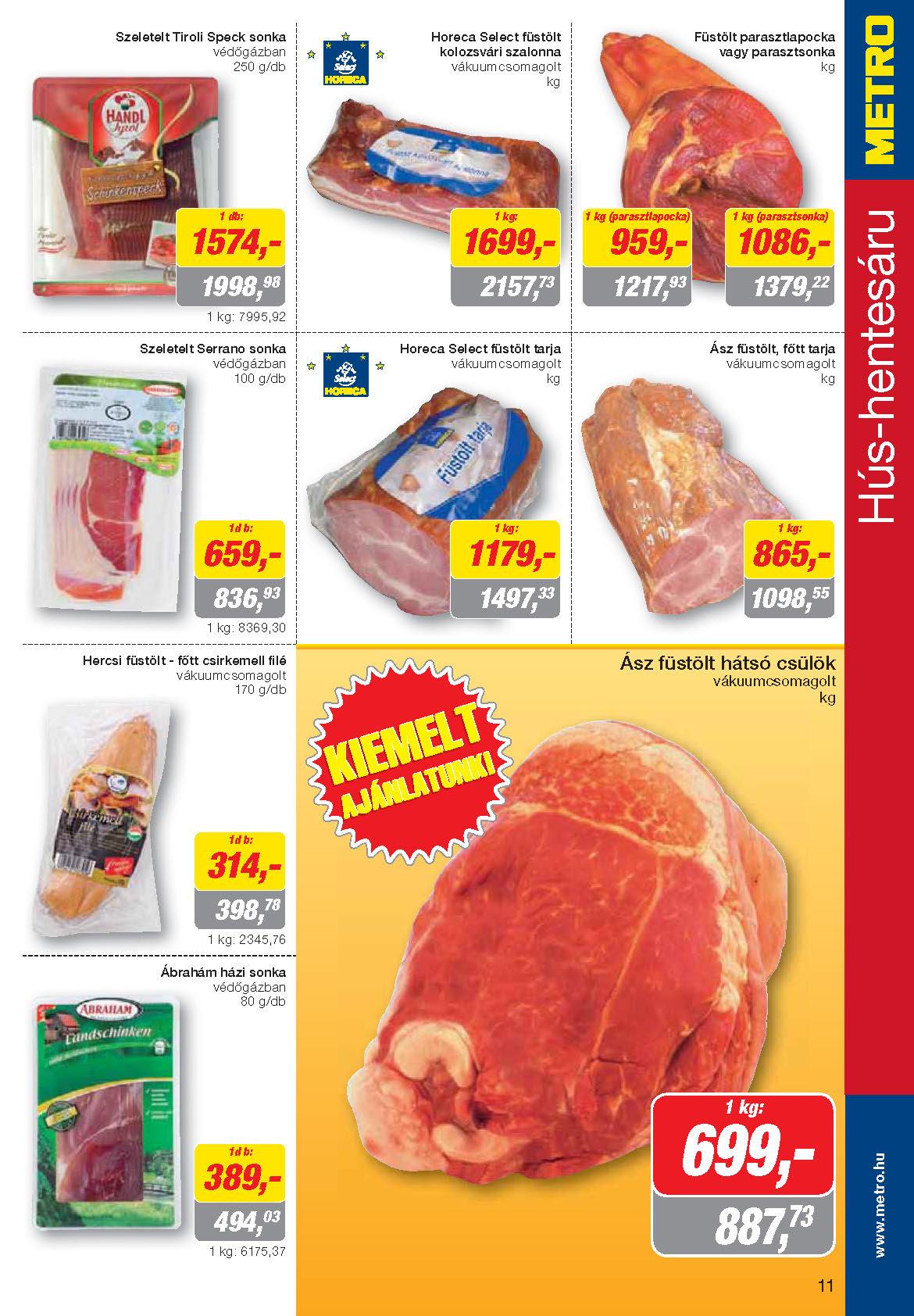 Metro Madjarska Katalog Akcija Prehrana