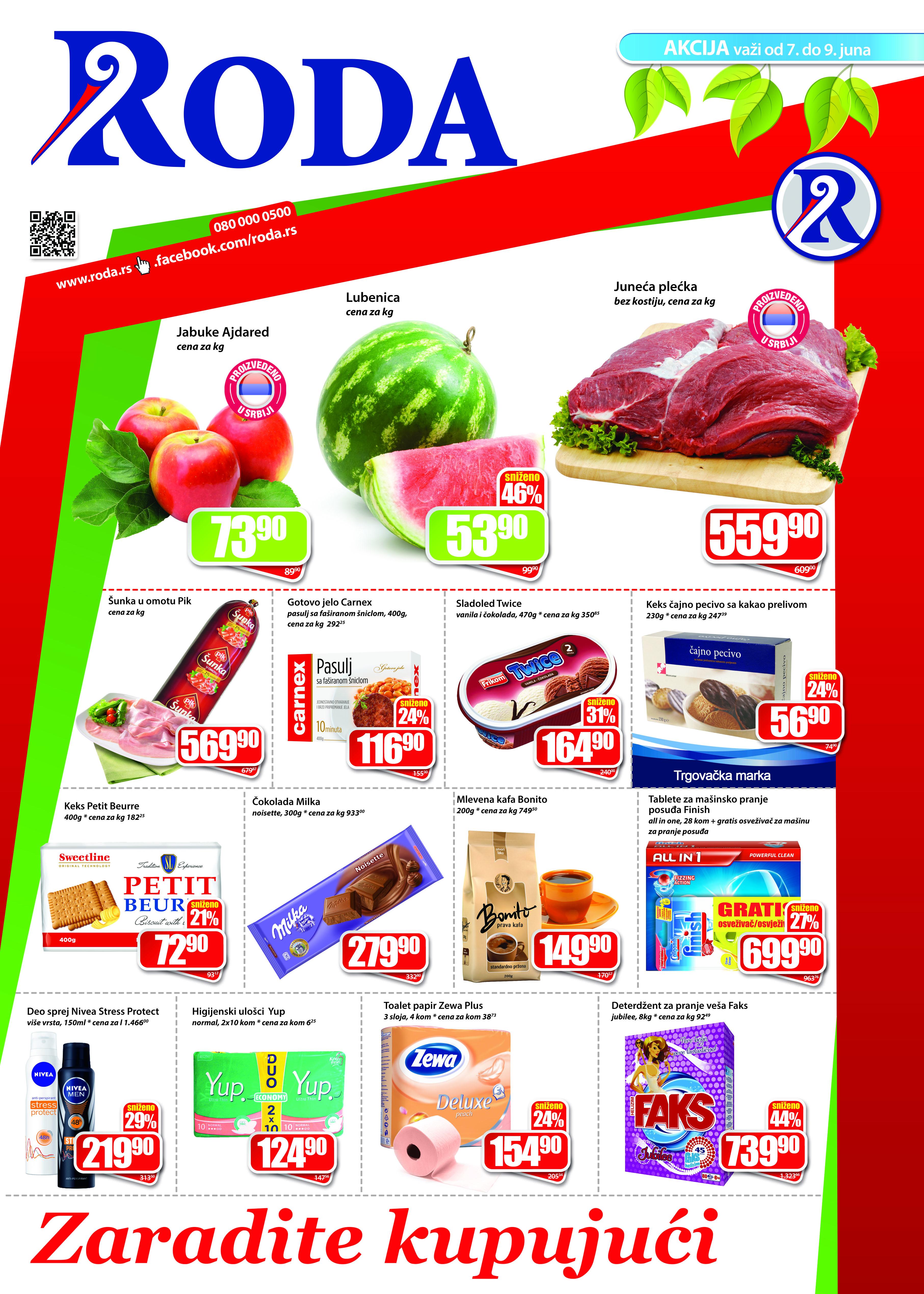Roda Katalog Vikend ponuda