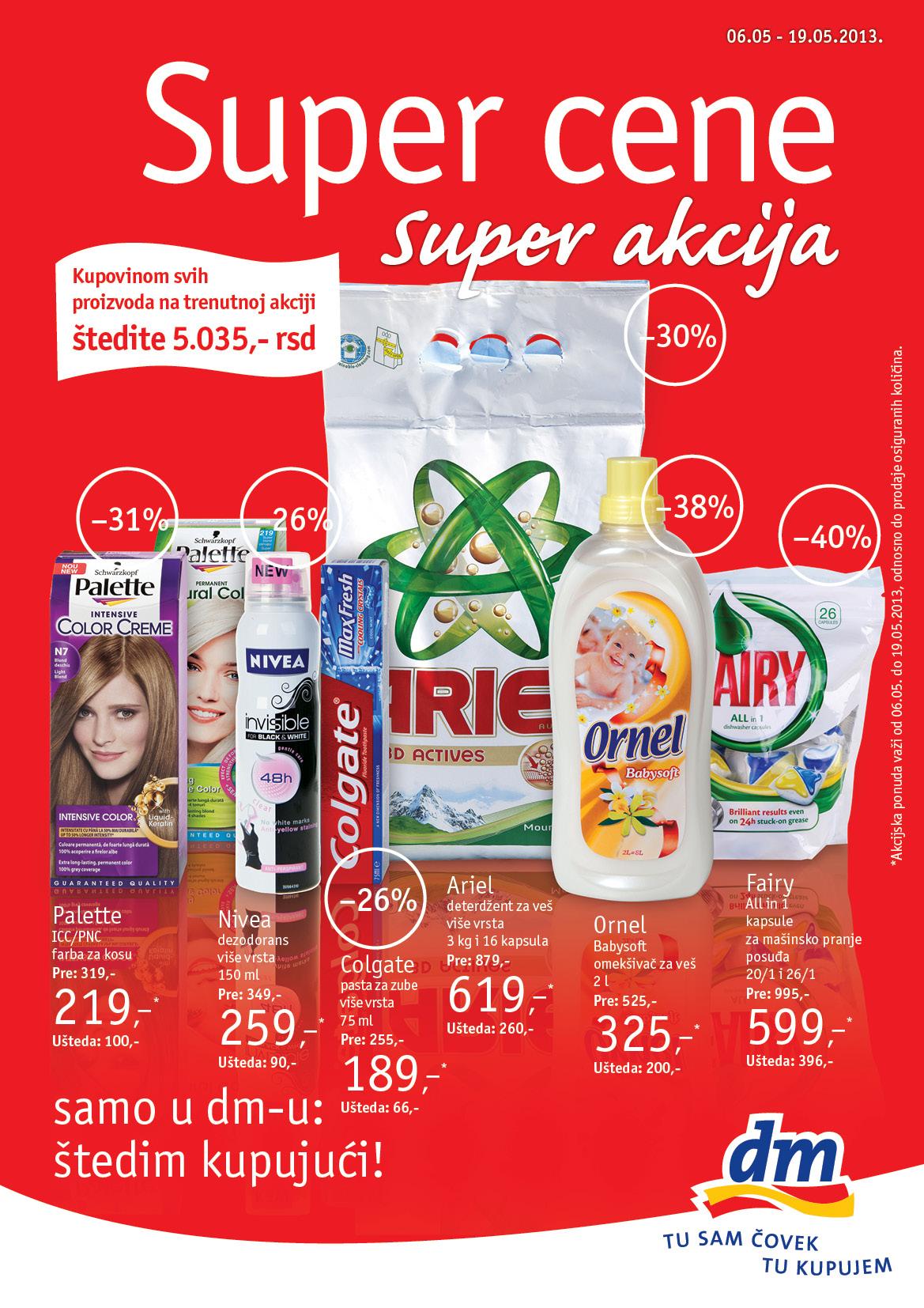 dm Katalog Super cene