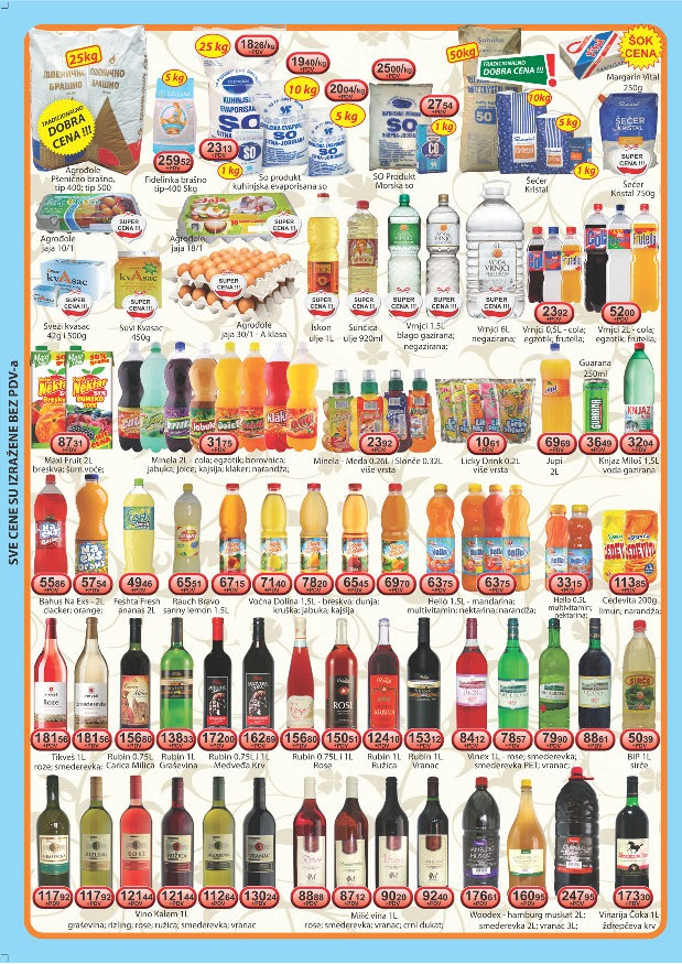 Viva 92 Katalog veleprodaja