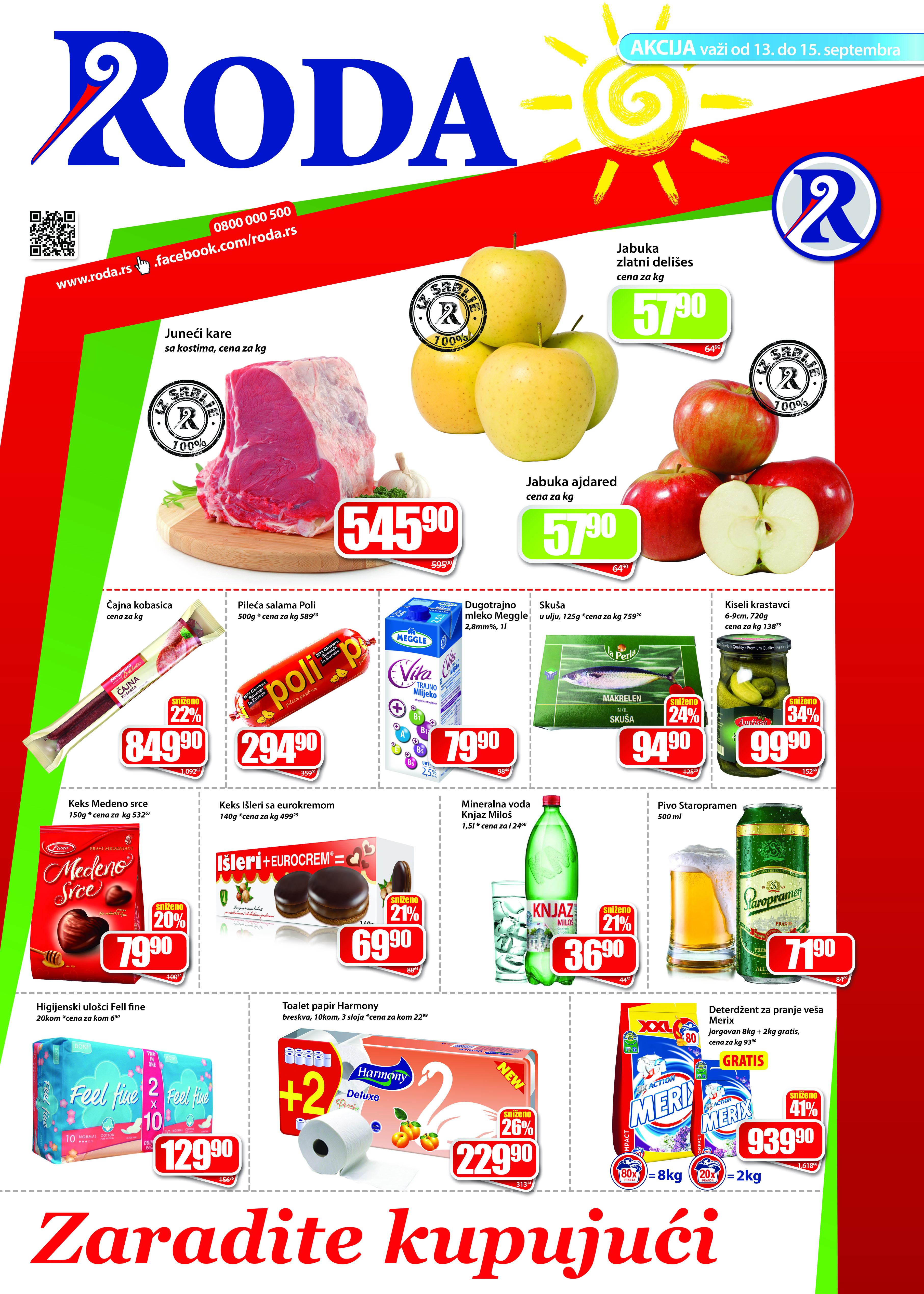Roda katalog vikend super kupovine