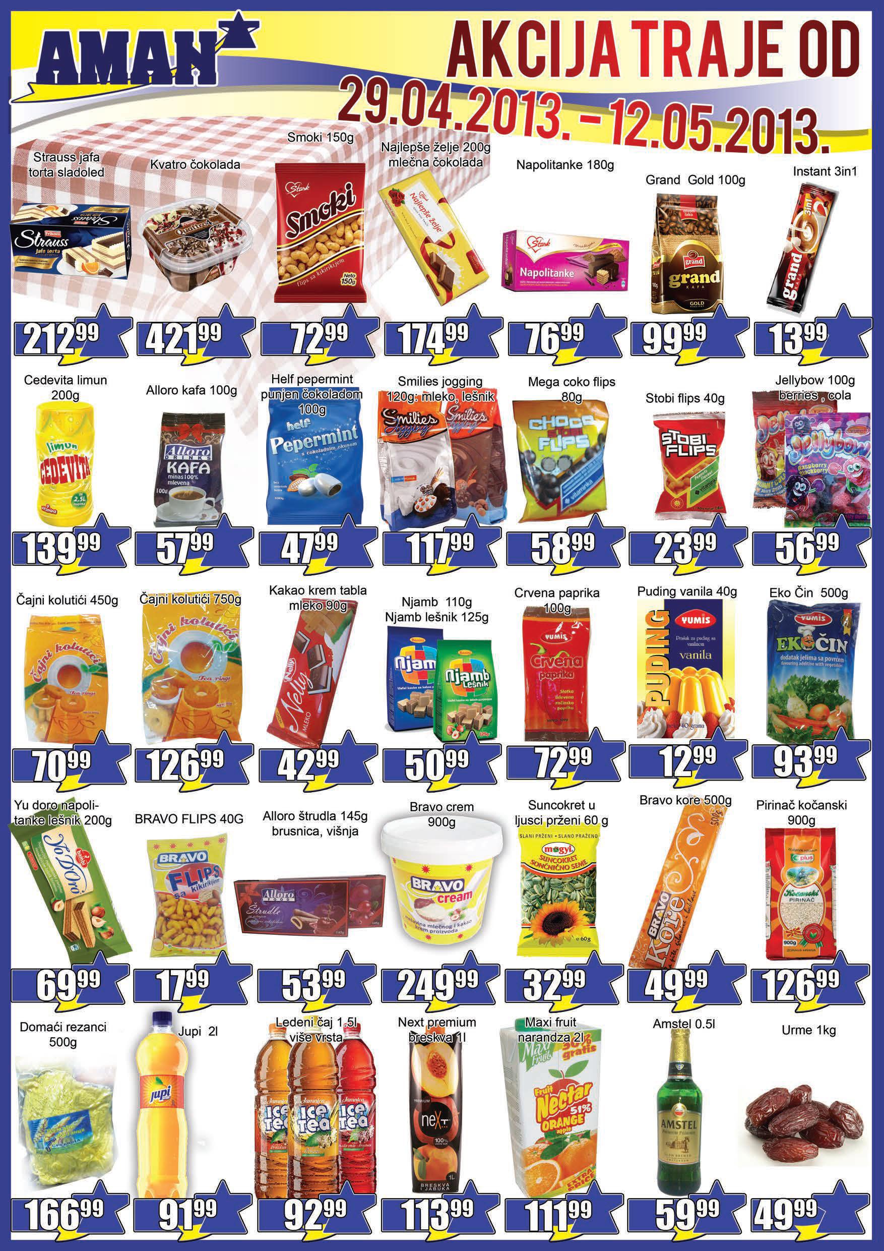 Aman Katalog Prehrana