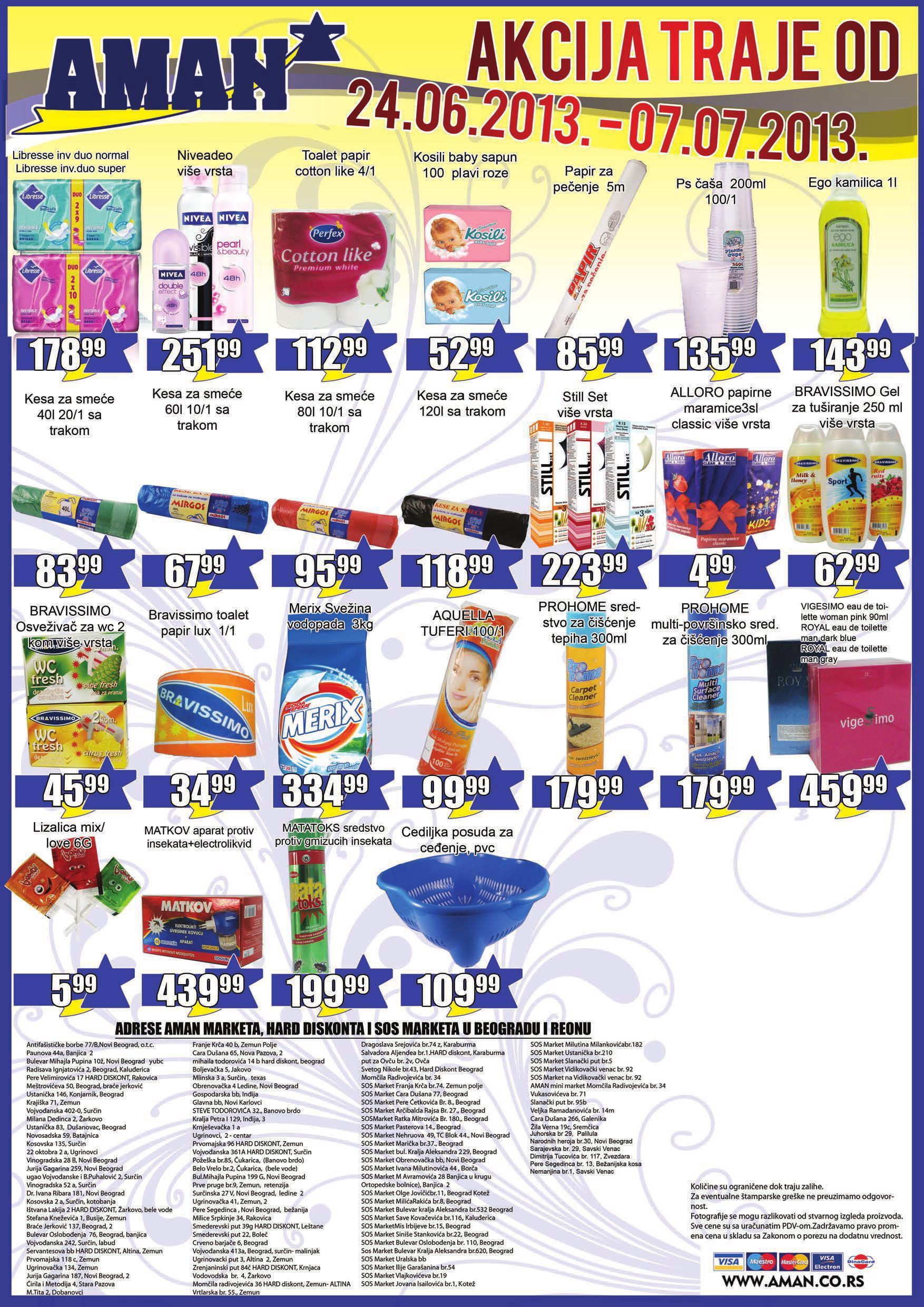Aman katalog najbolje kupovine
