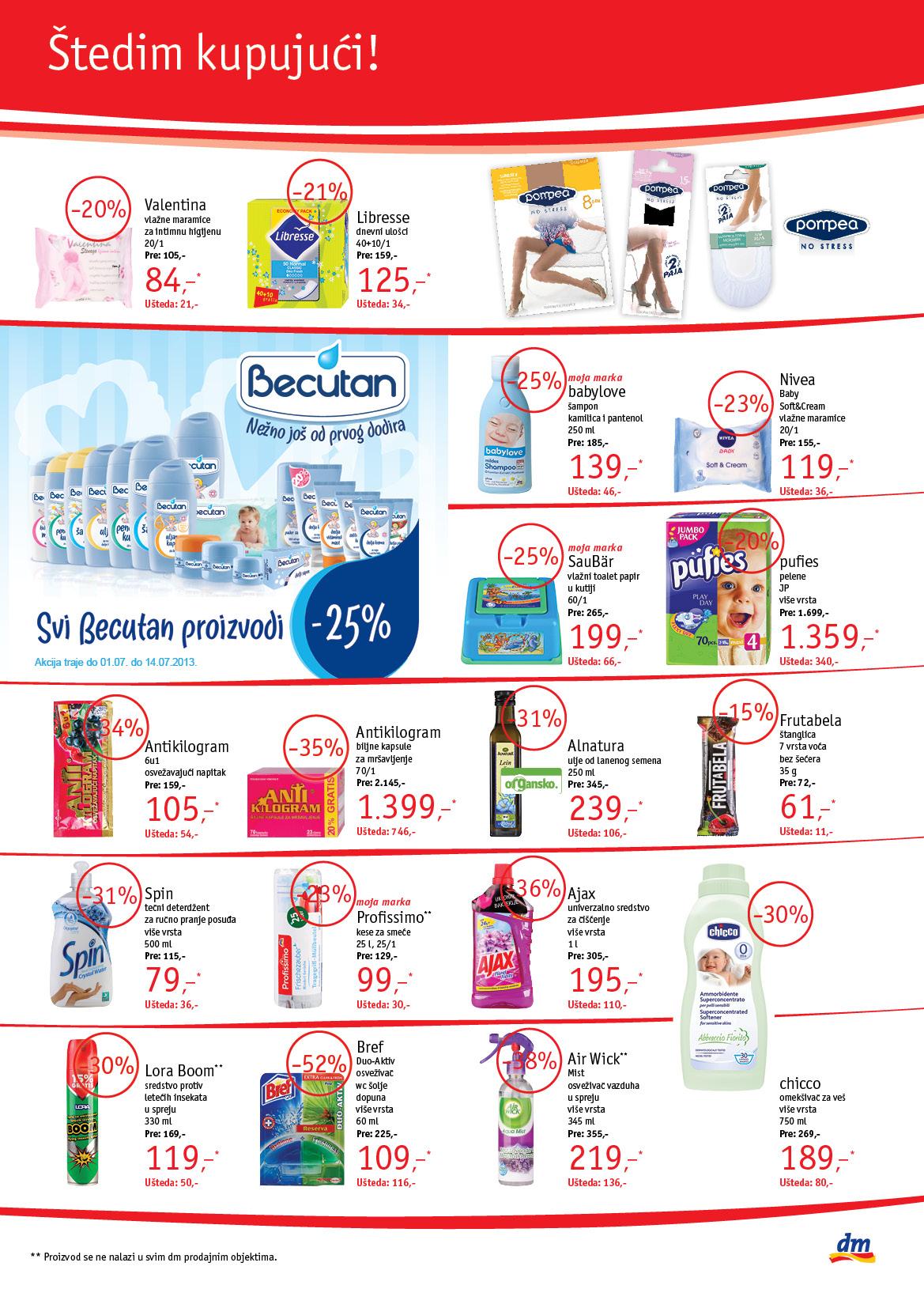 DM katalog super kupovine