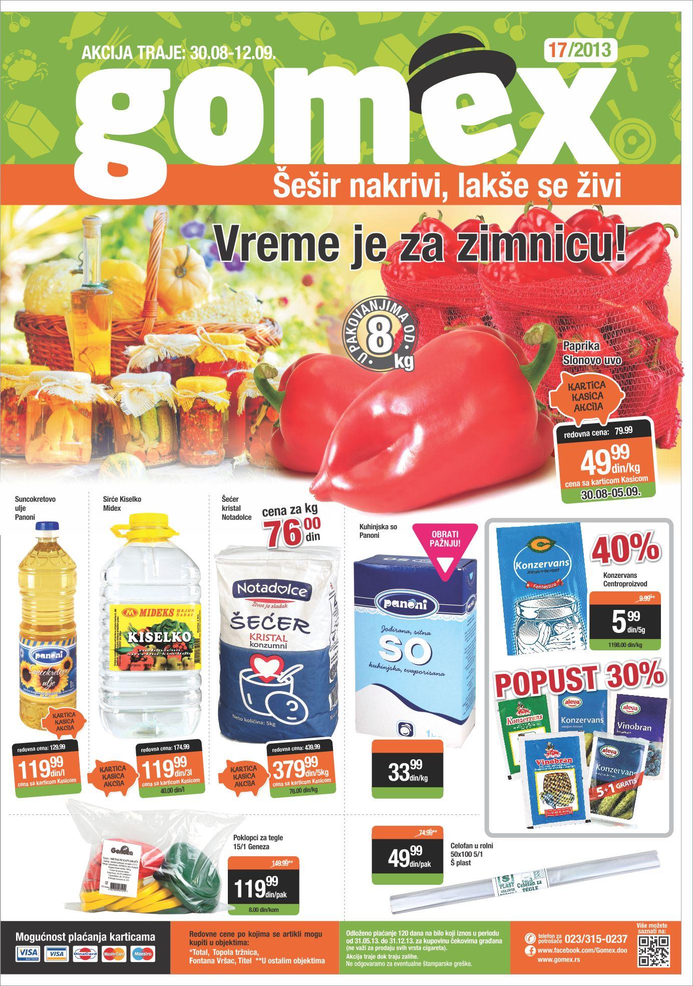 Gomex katalog super ponude