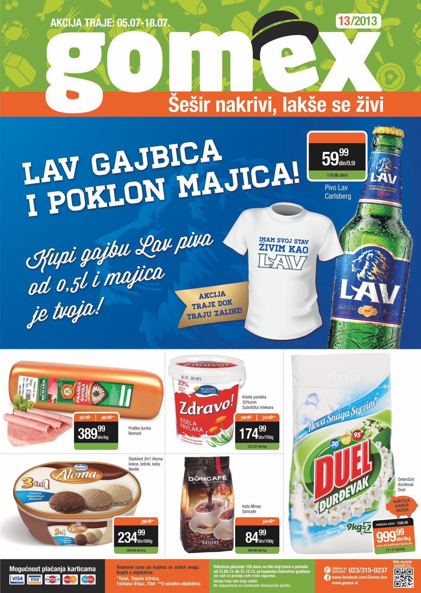 Gomex katalog dobre kupovine