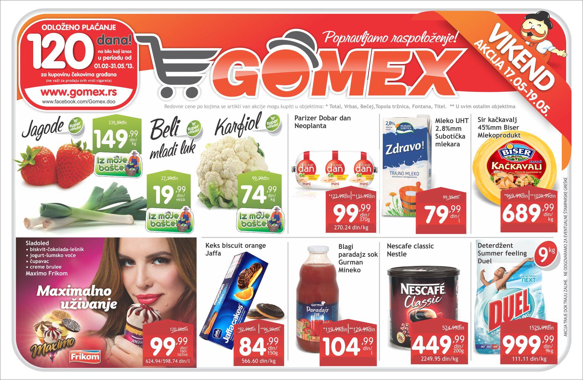 Gomex najpovoljnija kupovina
