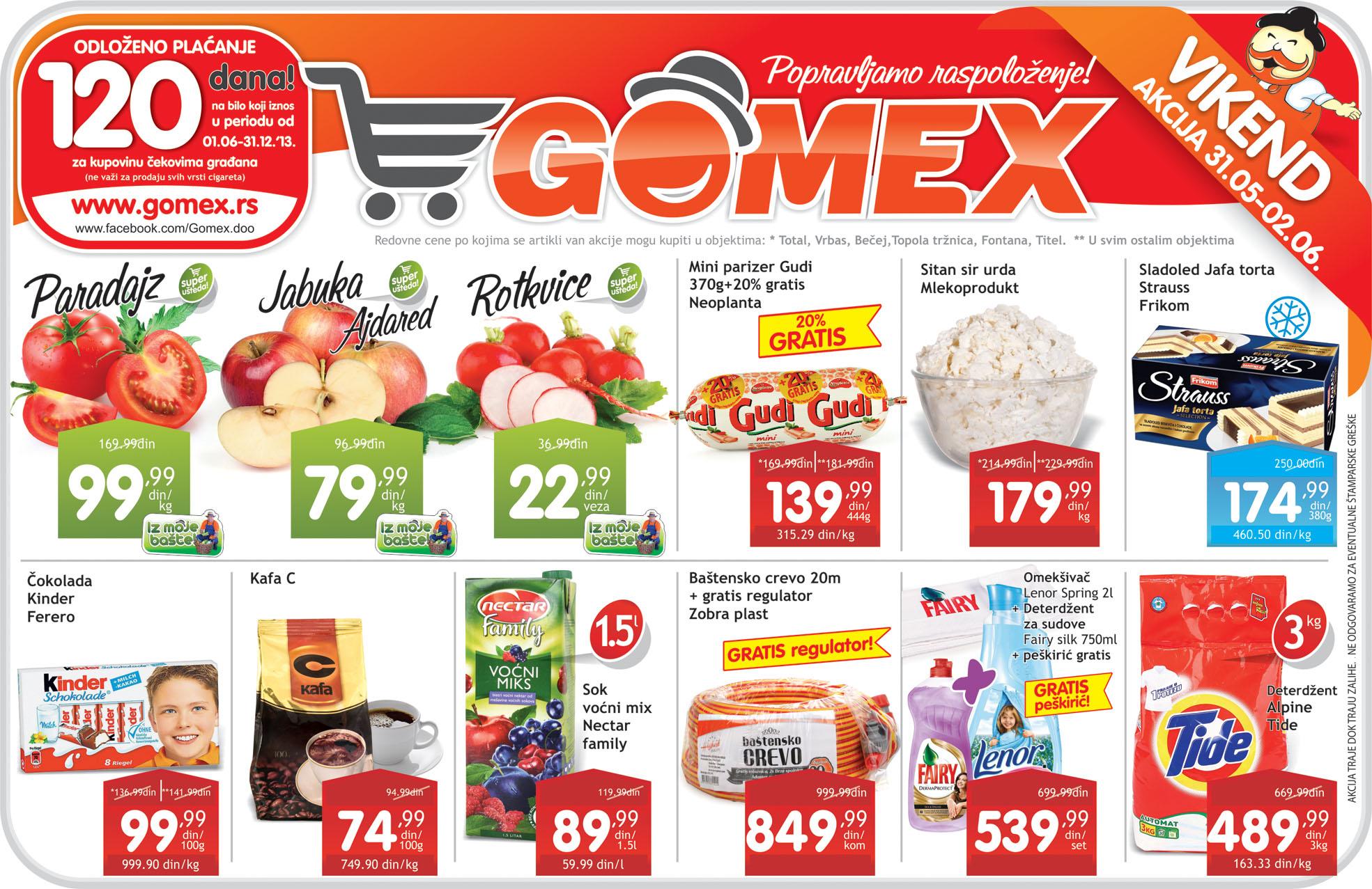 Gomex Katalog najbolje kupovine