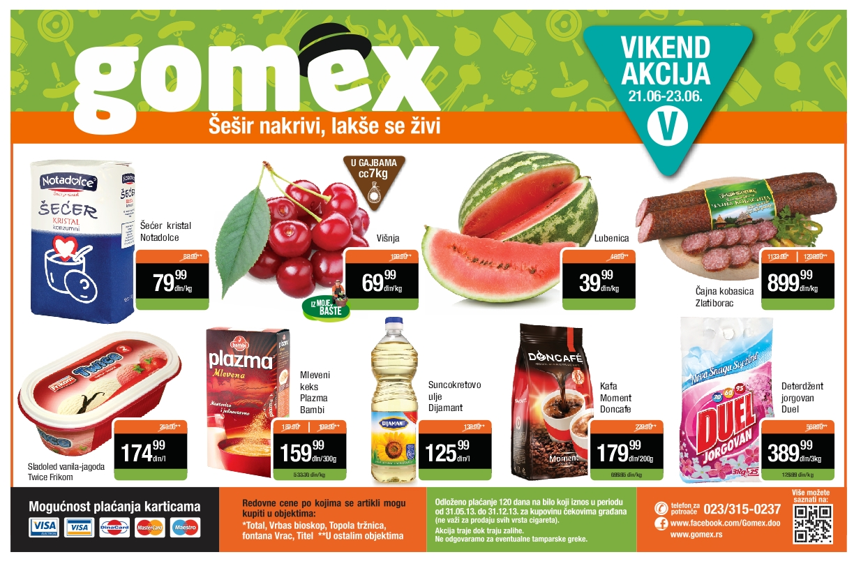 Gomex katalog super kupovine