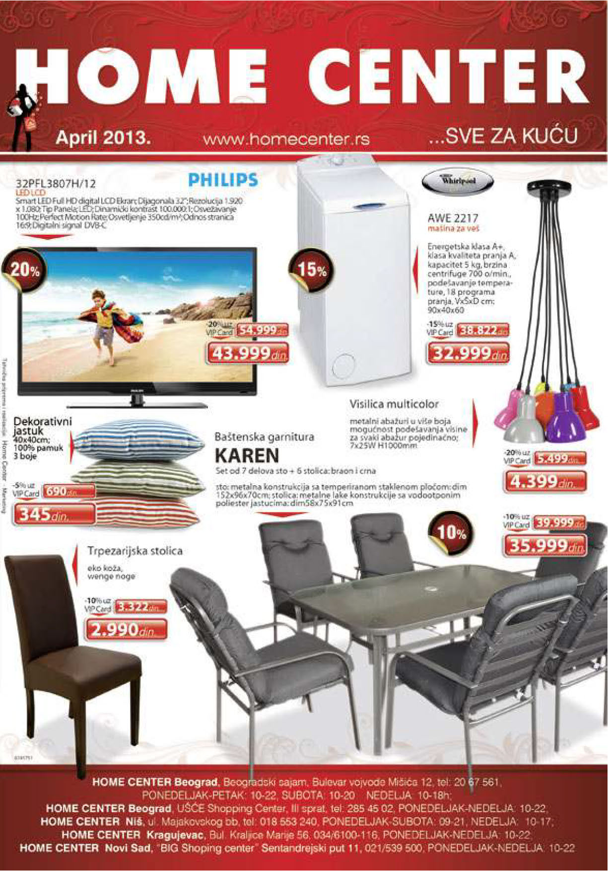 Home Center Katalog Sve za kuću