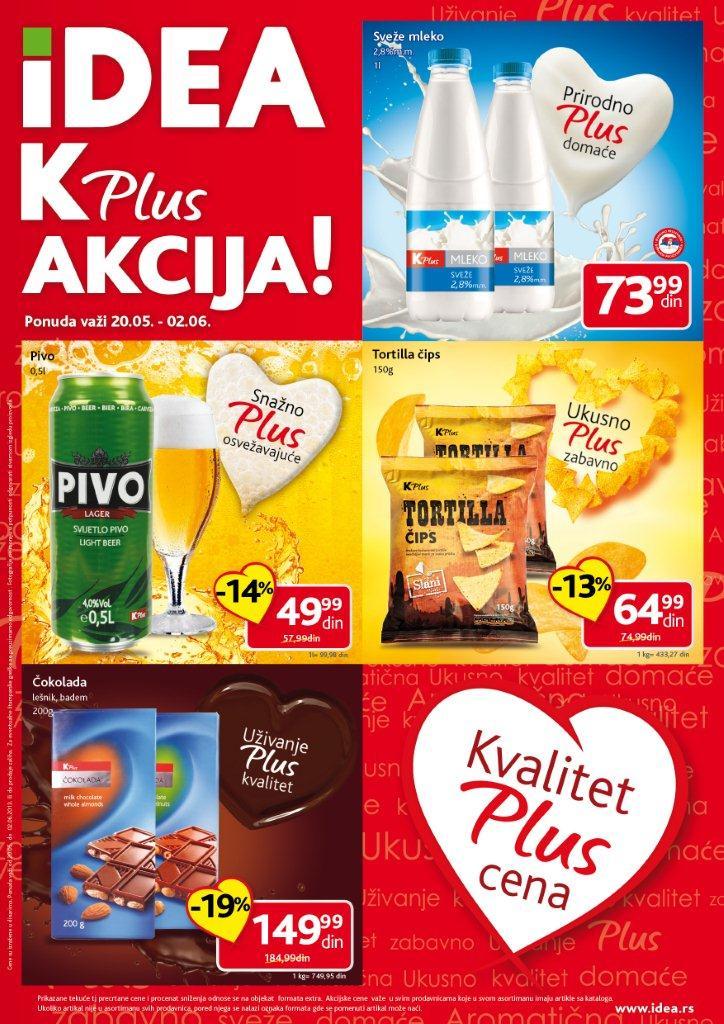 Idea Katalog Kplus ušteda