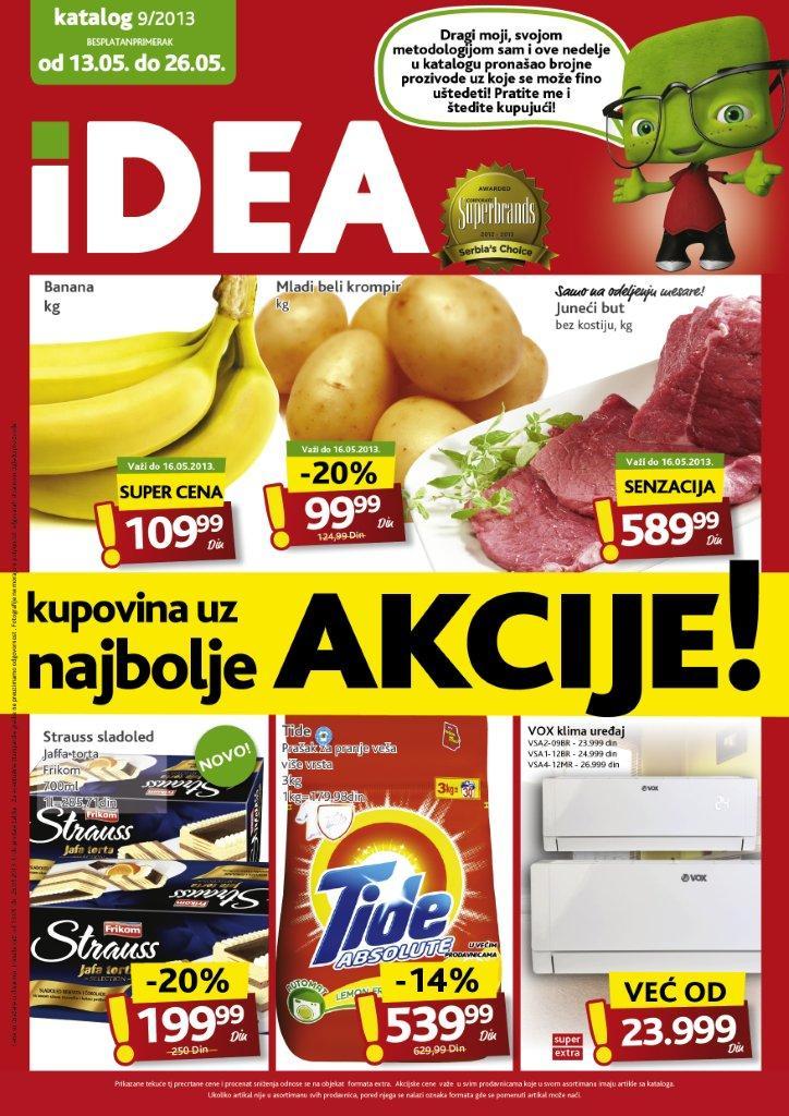Idea Katalog Prehrana