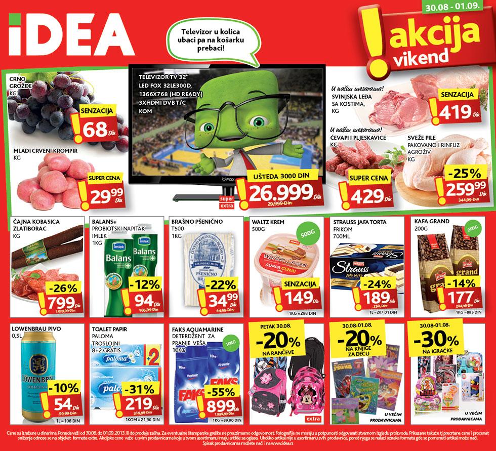 Idea katalog vikend dobre kupovine