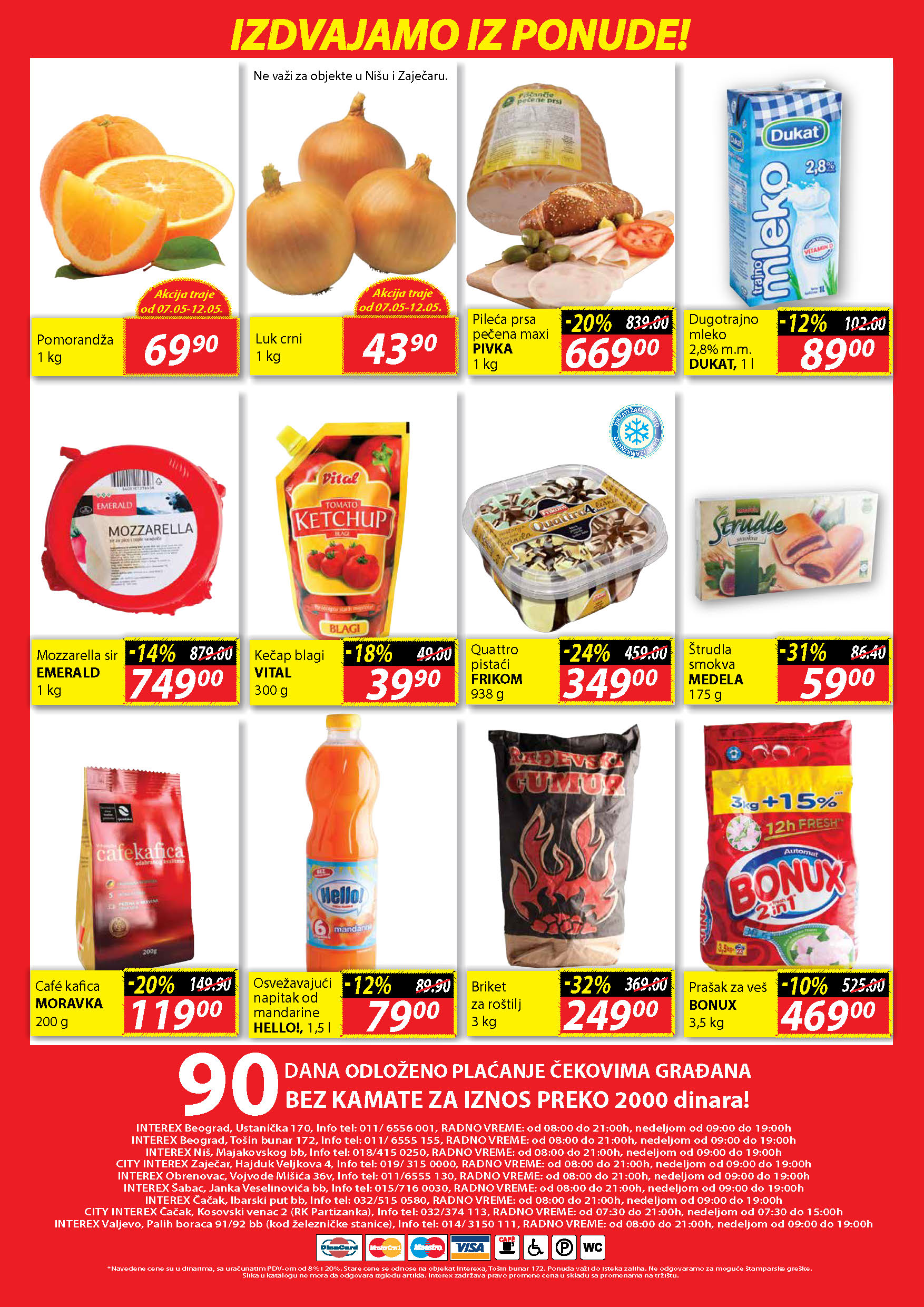 Interex Katalog prehrana