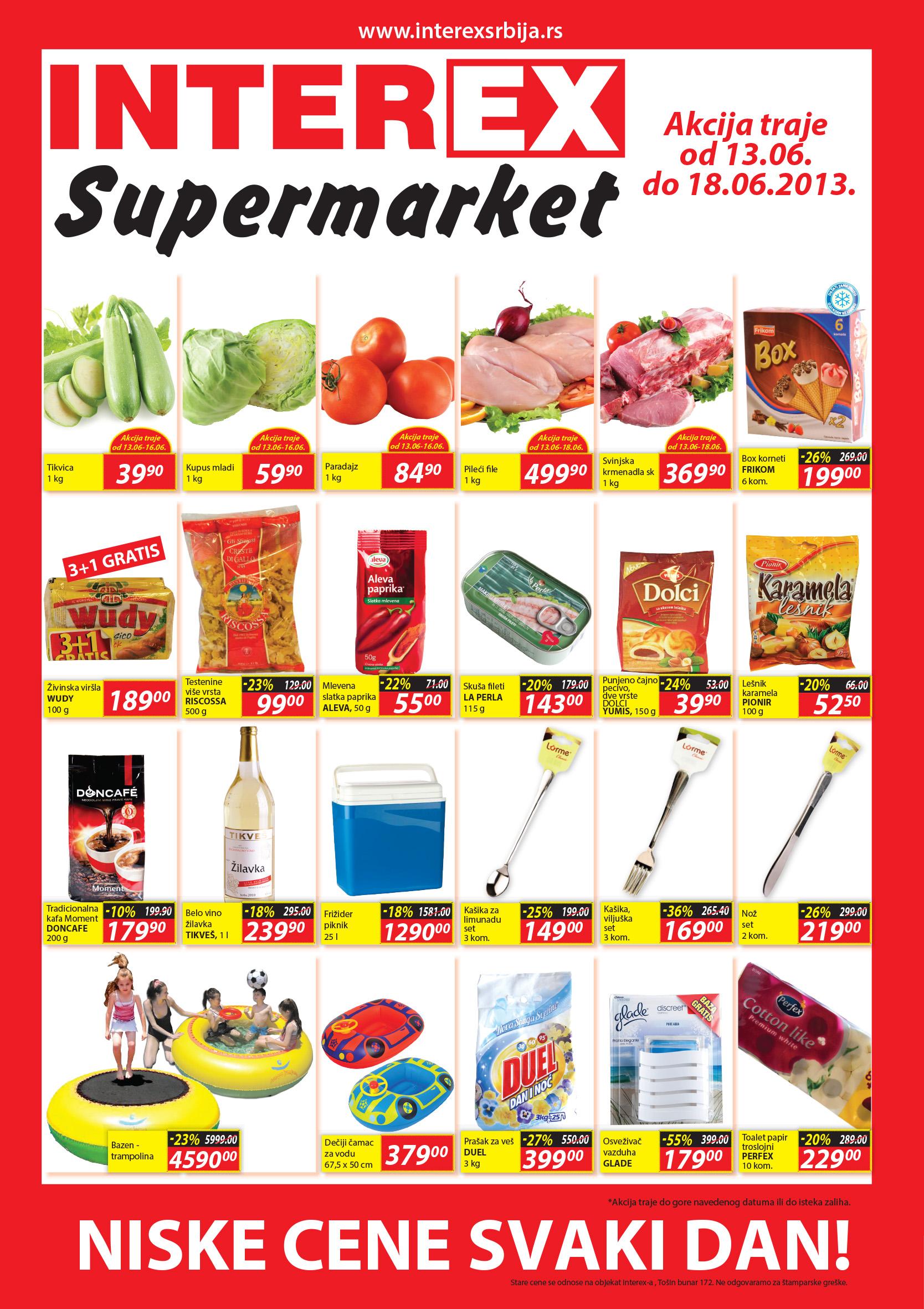 Interex katalog dani odlične kupovine