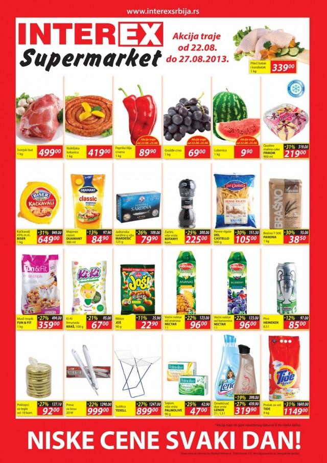 Interex katalog odlična ponuda niskih cena