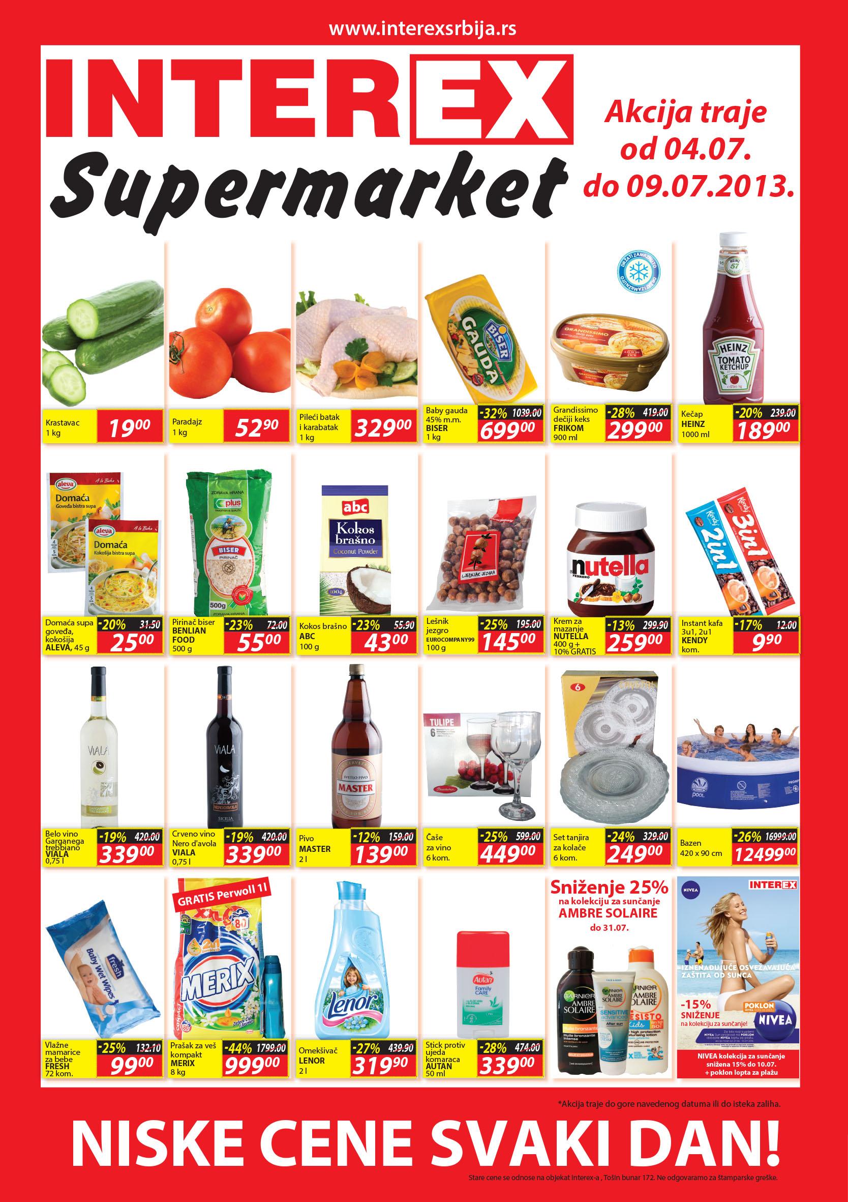 Interex katalog vikend super cena