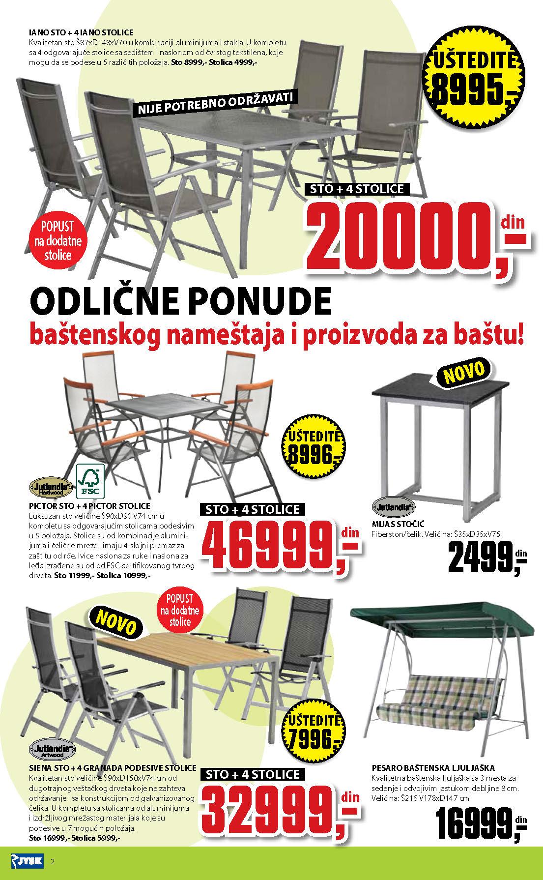 JYSK Katalog Akcija Sve za kuću