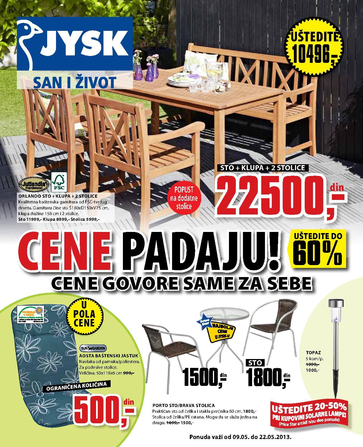 JYSK Katalog Sve za kuću