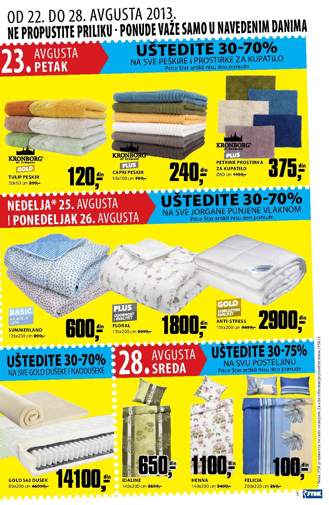 JYSK katalog najpovoljnije kupovine