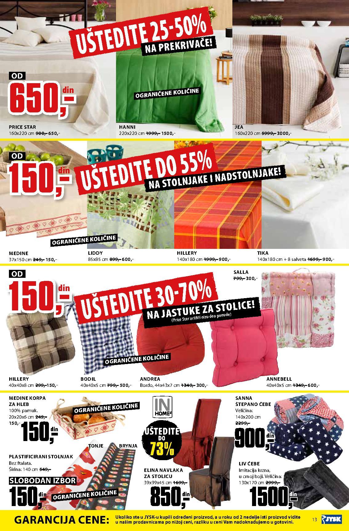 JYSK Katalog nedelja super kupovine