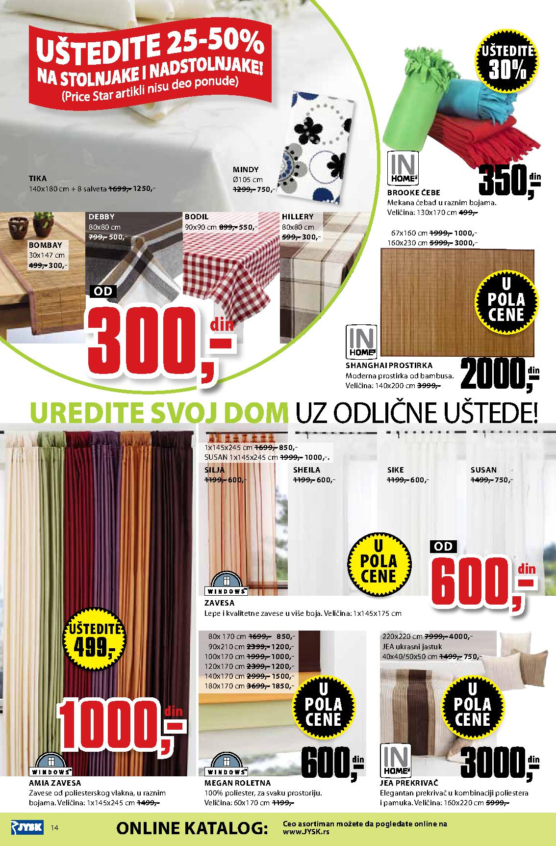 JYSK Katalog odlične kupovine