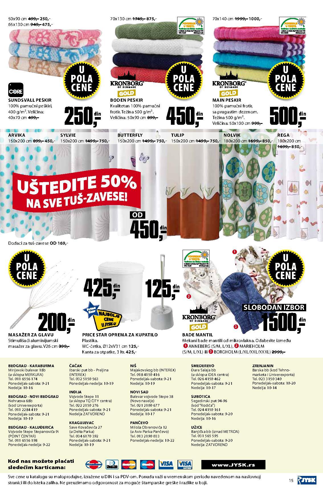 JYSK Katalog za vaš dom