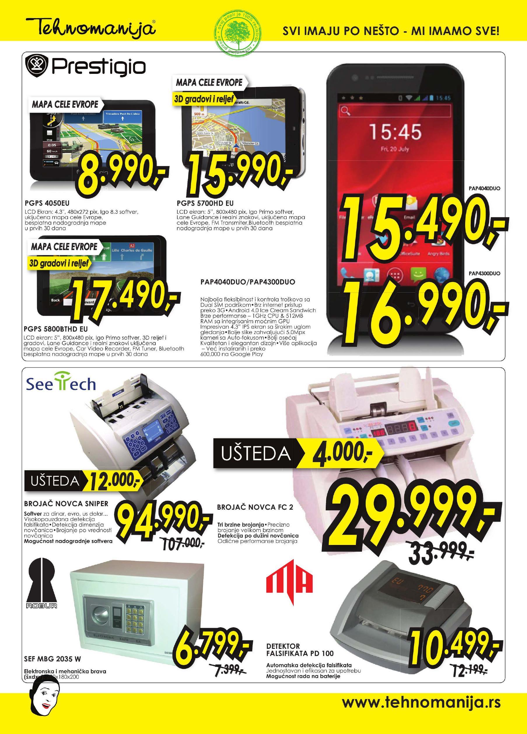 Tehnomanija katalog TV, A/V, Telefoni po super cenama
